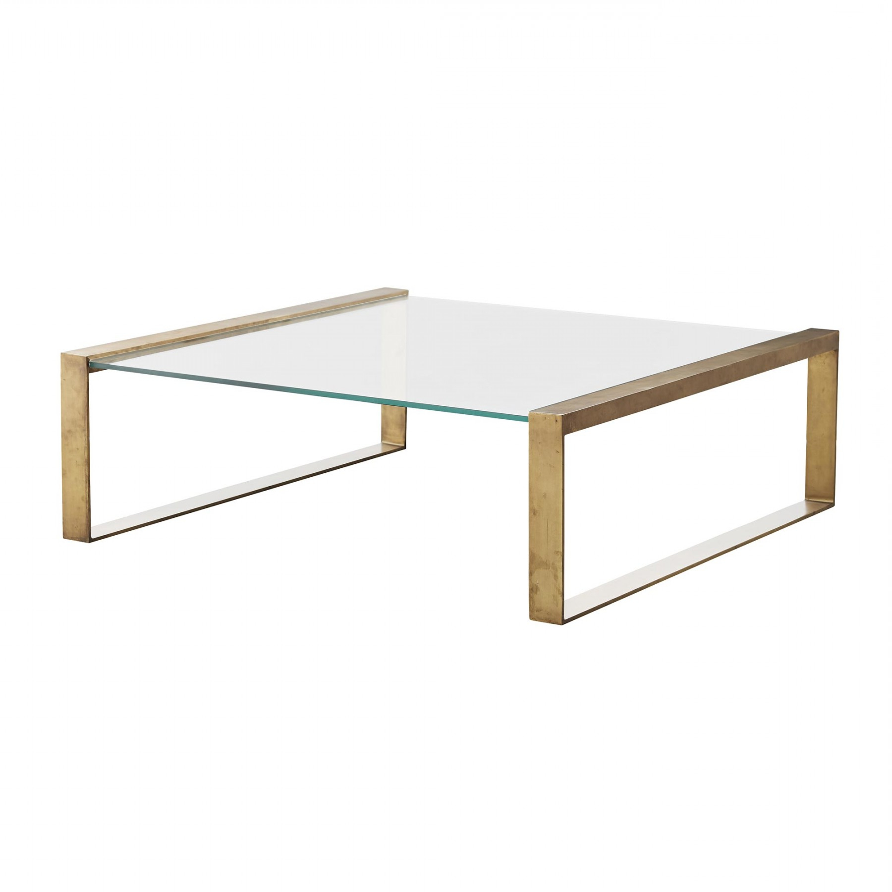 Rectangular Brass Finish And Glass Coffee Tables For Preferred Jocelyn Coffee Table (View 20 of 20)