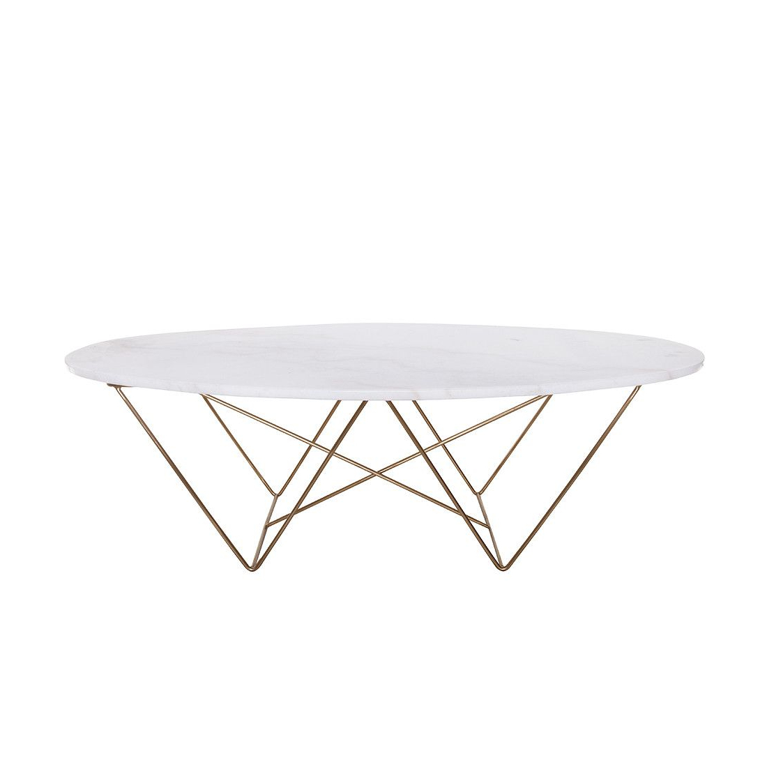 Rector Marble Coffee Table **pick Up Only (View 3 of 20)