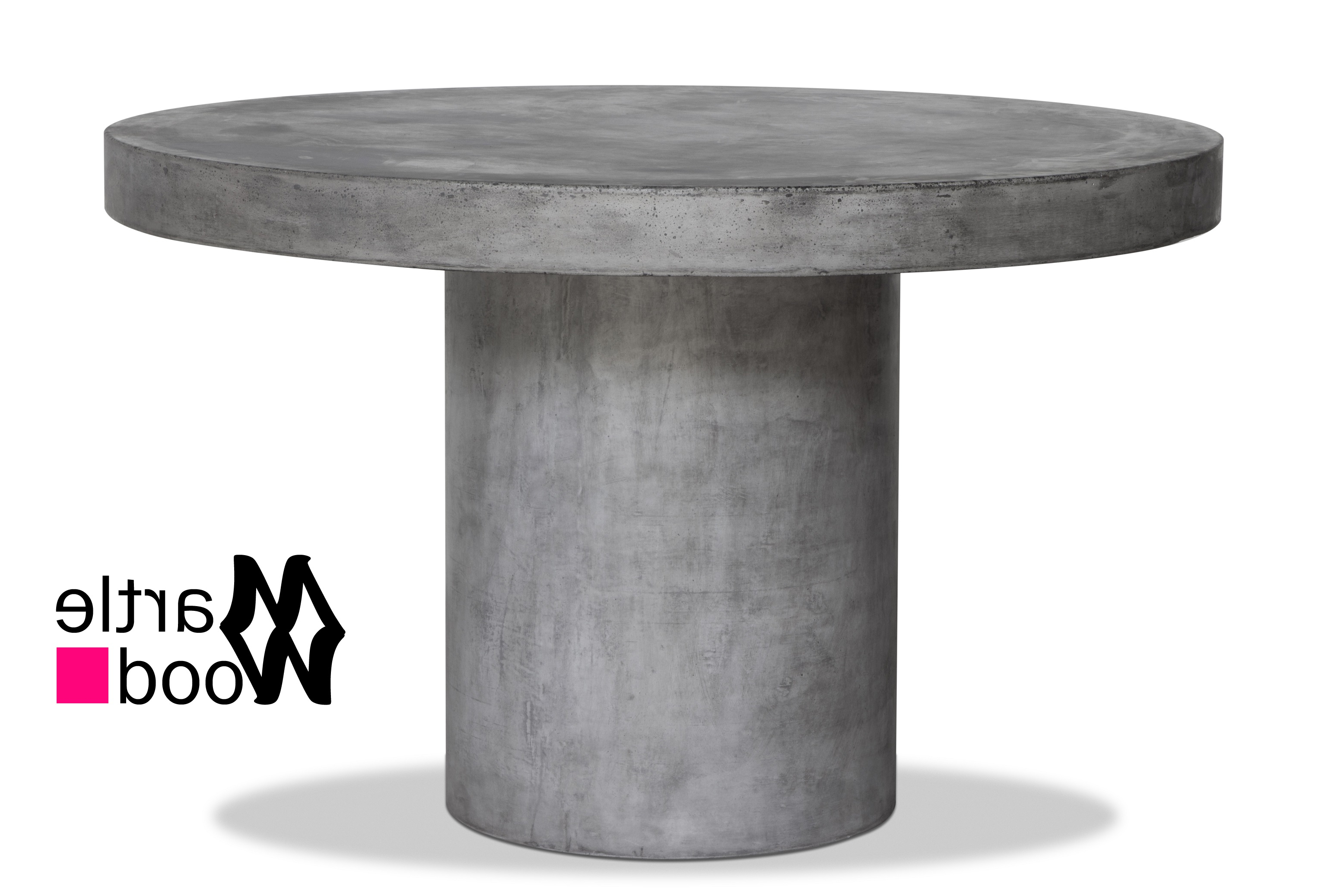 Regent Concrete Coffee Table – Martlewood Within Current Waxed Metal Coffee Tables (Gallery 18 of 20)