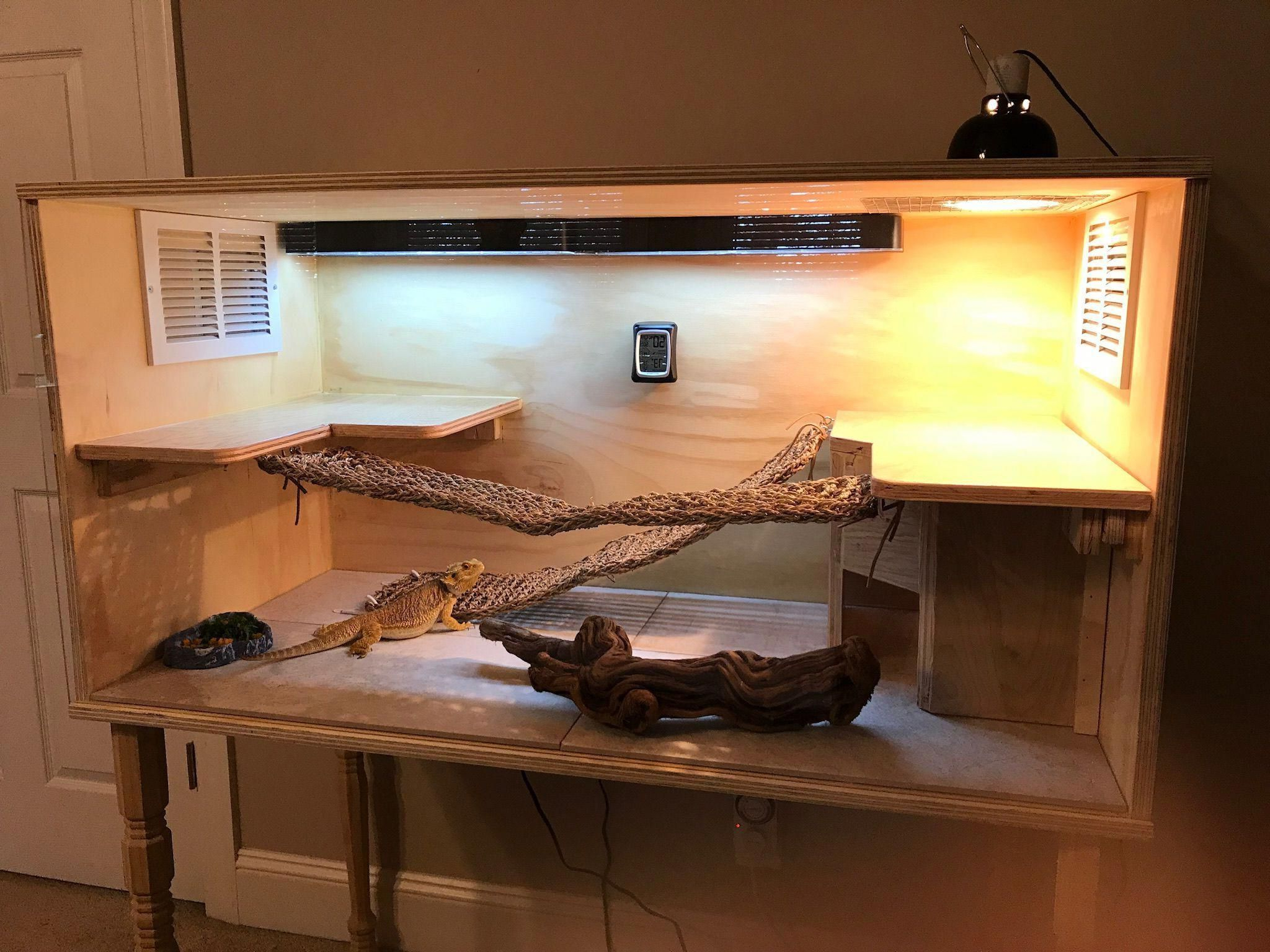 Rhya 4 Door Sideboards Pertaining To Most Popular Diy Bearded Dragon Enclosure #beardeddragondiy (View 13 of 20)
