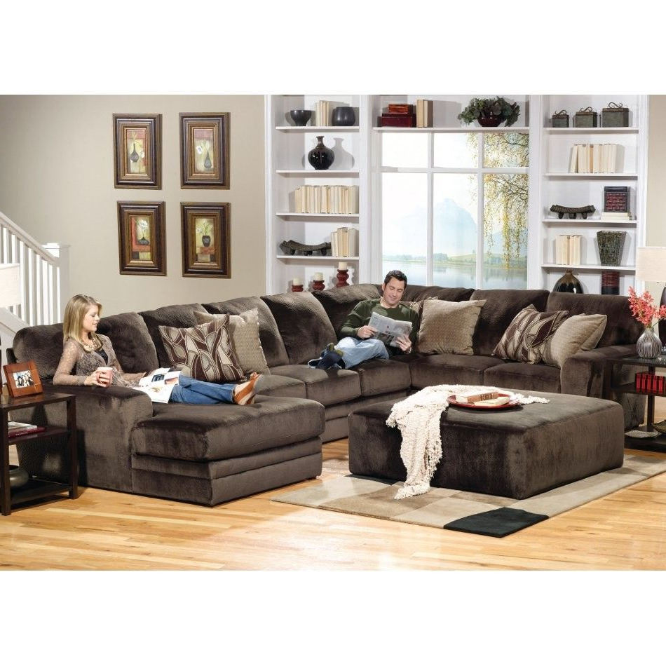 Right Side Facing Chaise With Recent Norfolk Chocolate 6 Piece Sectionals With Raf Chaise (Gallery 9 of 20)