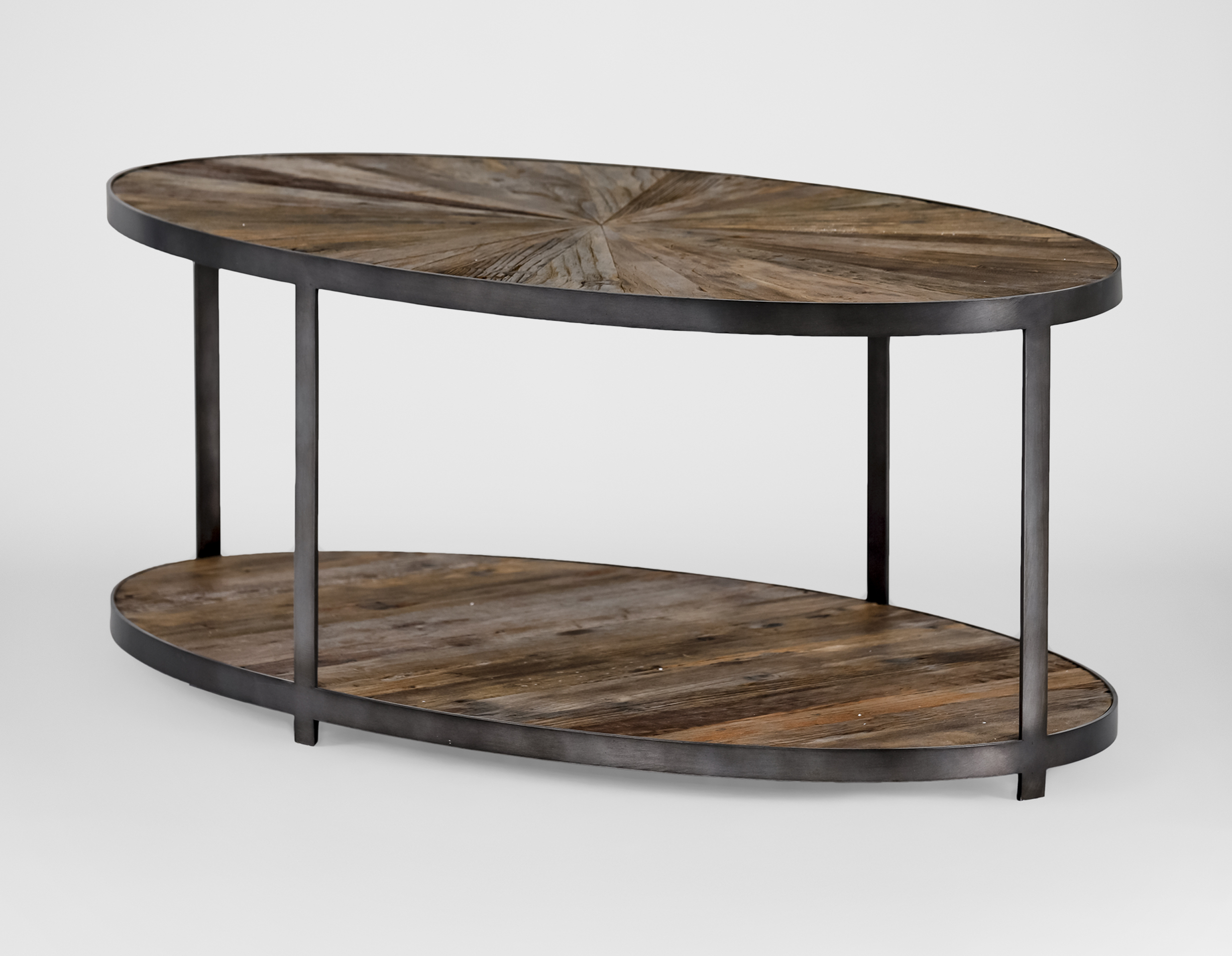 Ronald Coffee Table For Best And Newest Reclaimed Elm Iron Coffee Tables (Gallery 8 of 20)