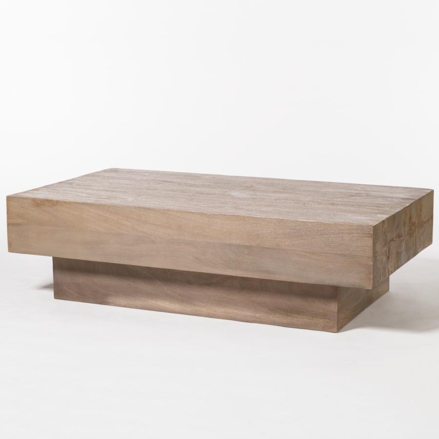 Santa Fe Coffee Tables Intended For Newest Santa Fe Coffee Table – Alder & Tweed Furniture (Gallery 1 of 20)