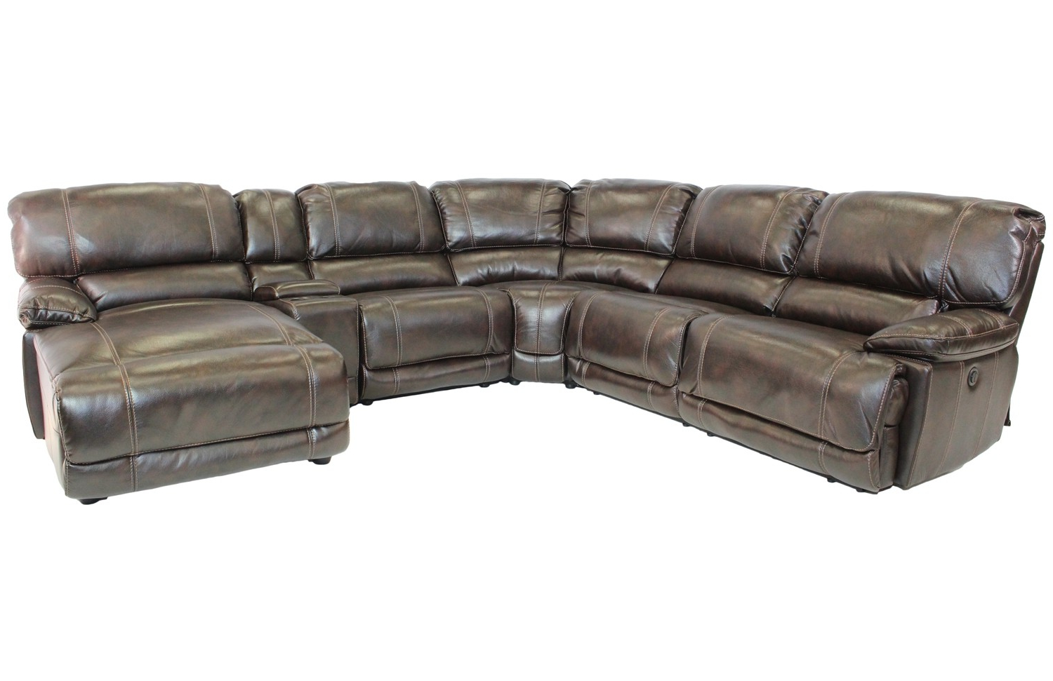 Save Mor This Holiday Season For Current Marcus Chocolate 6 Piece Sectionals With Power Headrest And Usb (Gallery 5 of 20)