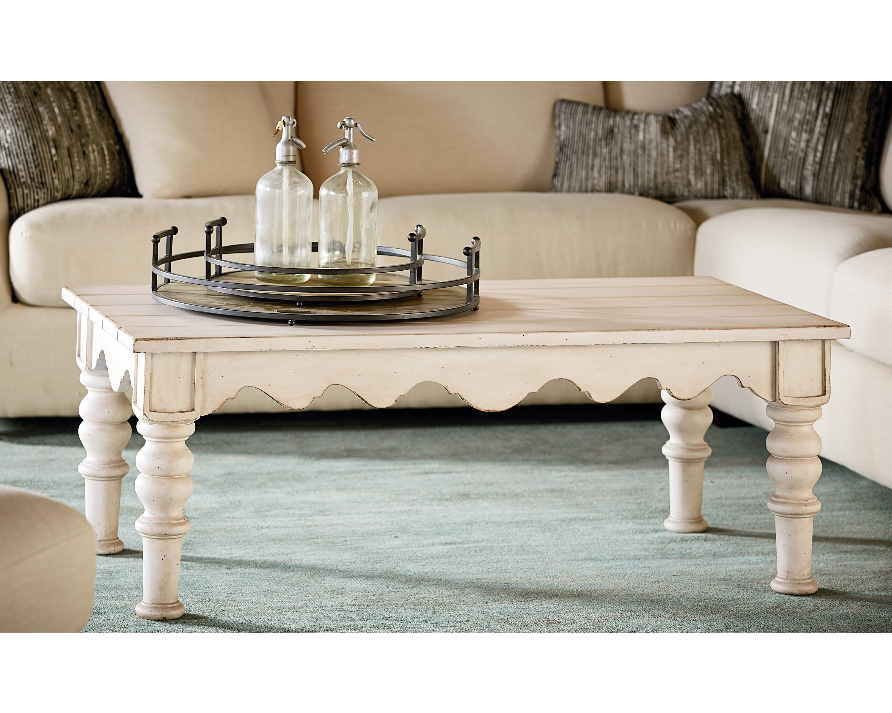 Scallop Coffee Table – Magnolia Home In 2018 Magnolia Home Scallop Antique White Cocktail Tables (View 2 of 20)