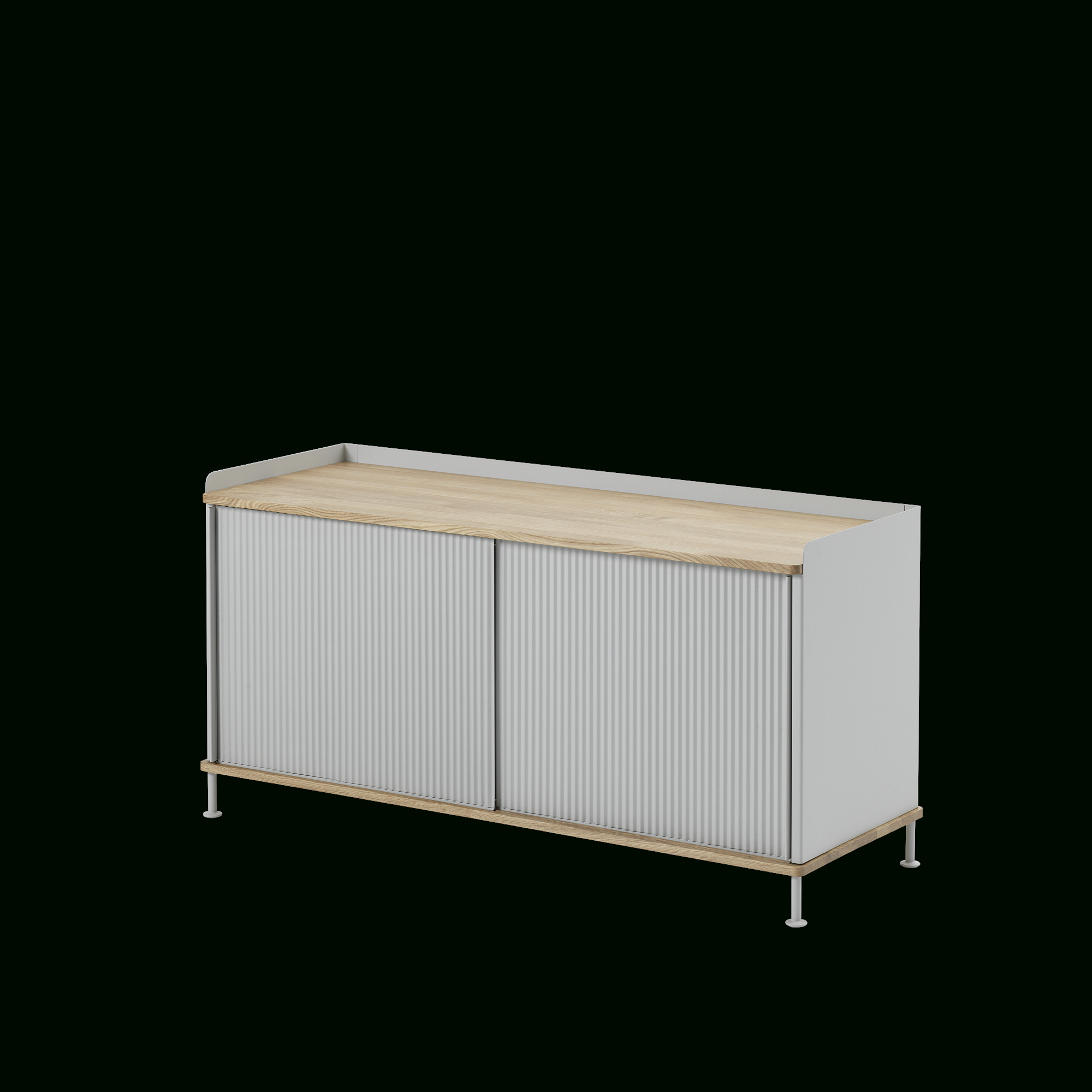 Scandinavian Storage Design Intended For Metal Refinement 4 Door Sideboards (Gallery 18 of 20)