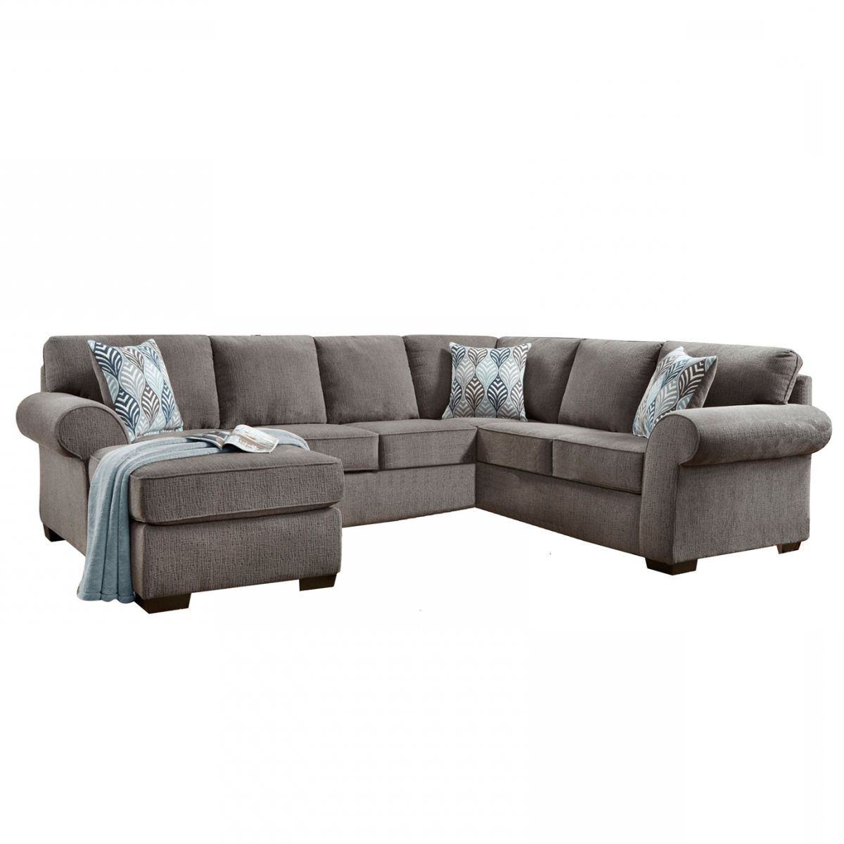 Sectional Sofa Sets Large Small Couches Grey – Locsbyhelenelorasa In Favorite Mcdade Graphite 2 Piece Sectionals With Laf Chaise (View 16 of 20)