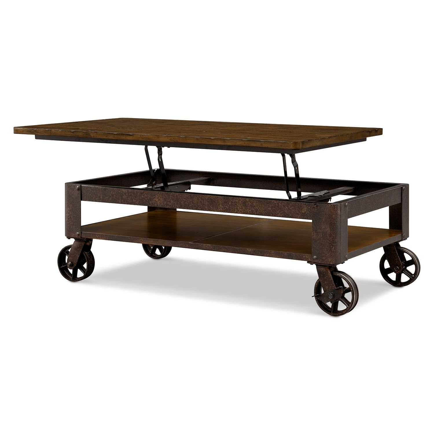 Seriously One Of My Favorite Tables Ever. It's Wonderfully Made Pertaining To Most Recently Released Grant Lift Top Cocktail Tables With Casters (Gallery 3 of 20)