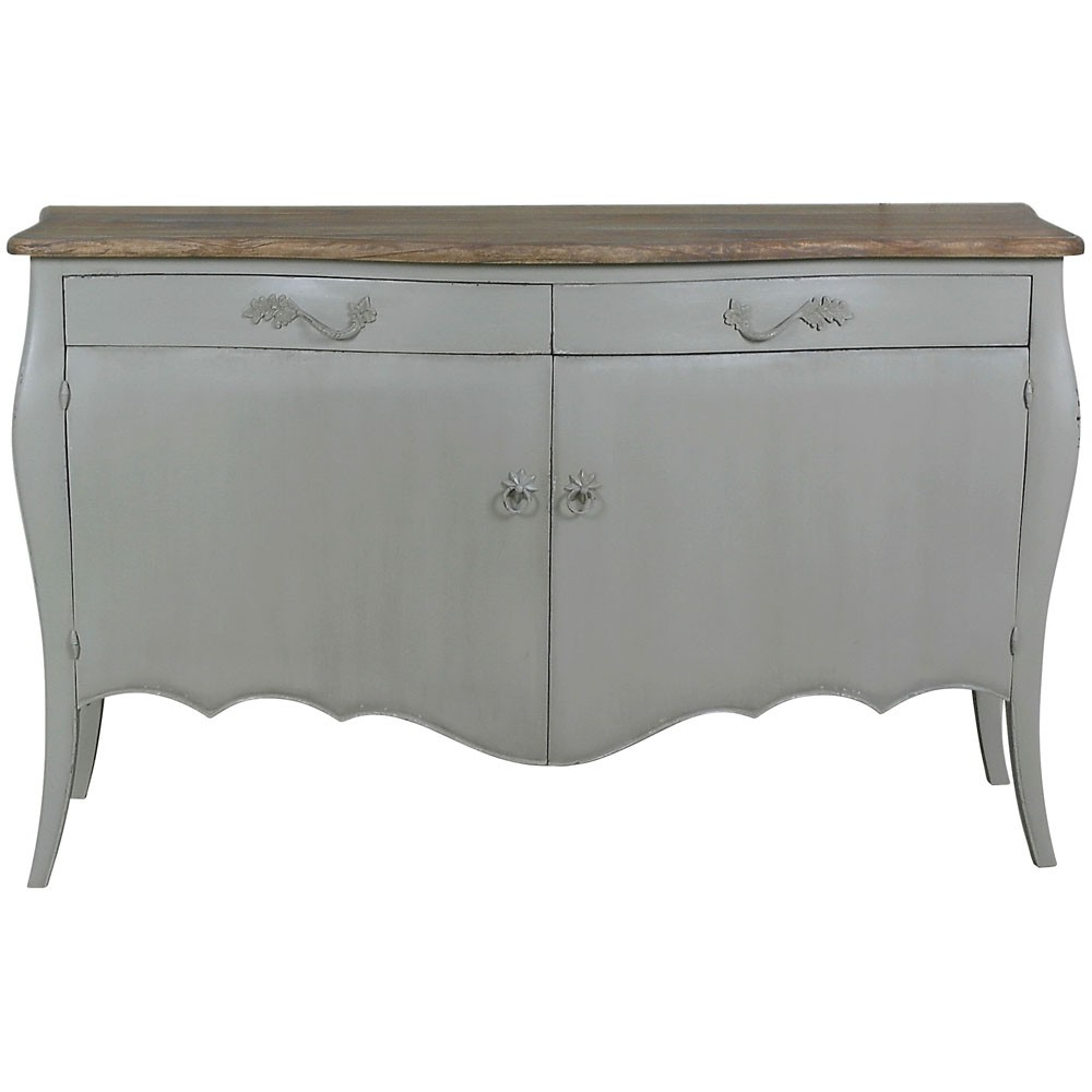 Shabby Throughout Antique White Distressed 3 Drawer/2 Door Sideboards (View 10 of 20)