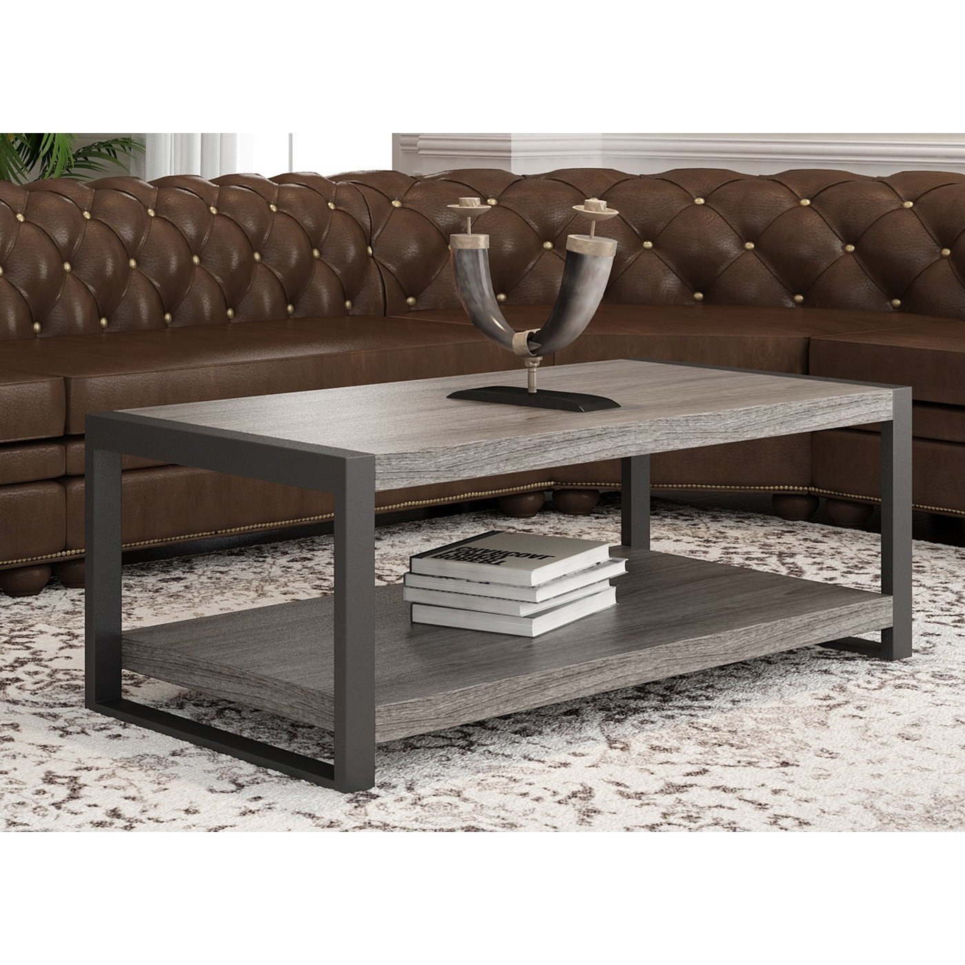 "Shop Angelo:home 48"" Coffee Table – 48 X 24 X 18H – On Sale – Free With Regard To 2018 Chevron 48"" Coffee Tables (Gallery 1 of 19)"