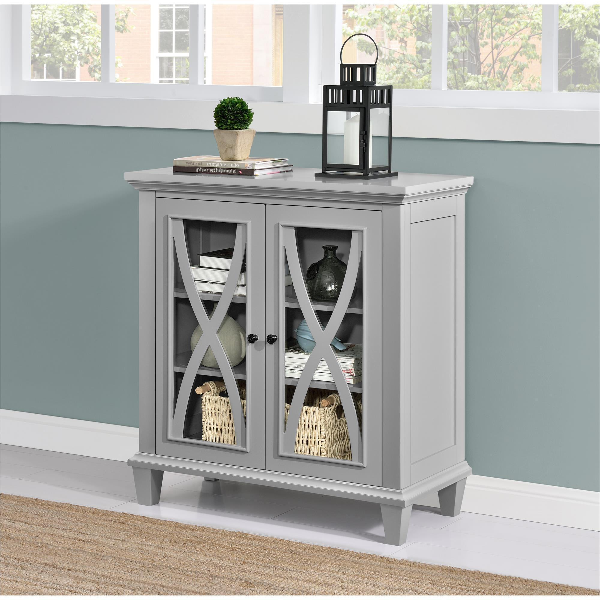 Shop The Gray Barn Chestnut Grove Accent Cabinet – Free Shipping Throughout Latest Oil Pale Finish 4 Door Sideboards (Gallery 5 of 20)