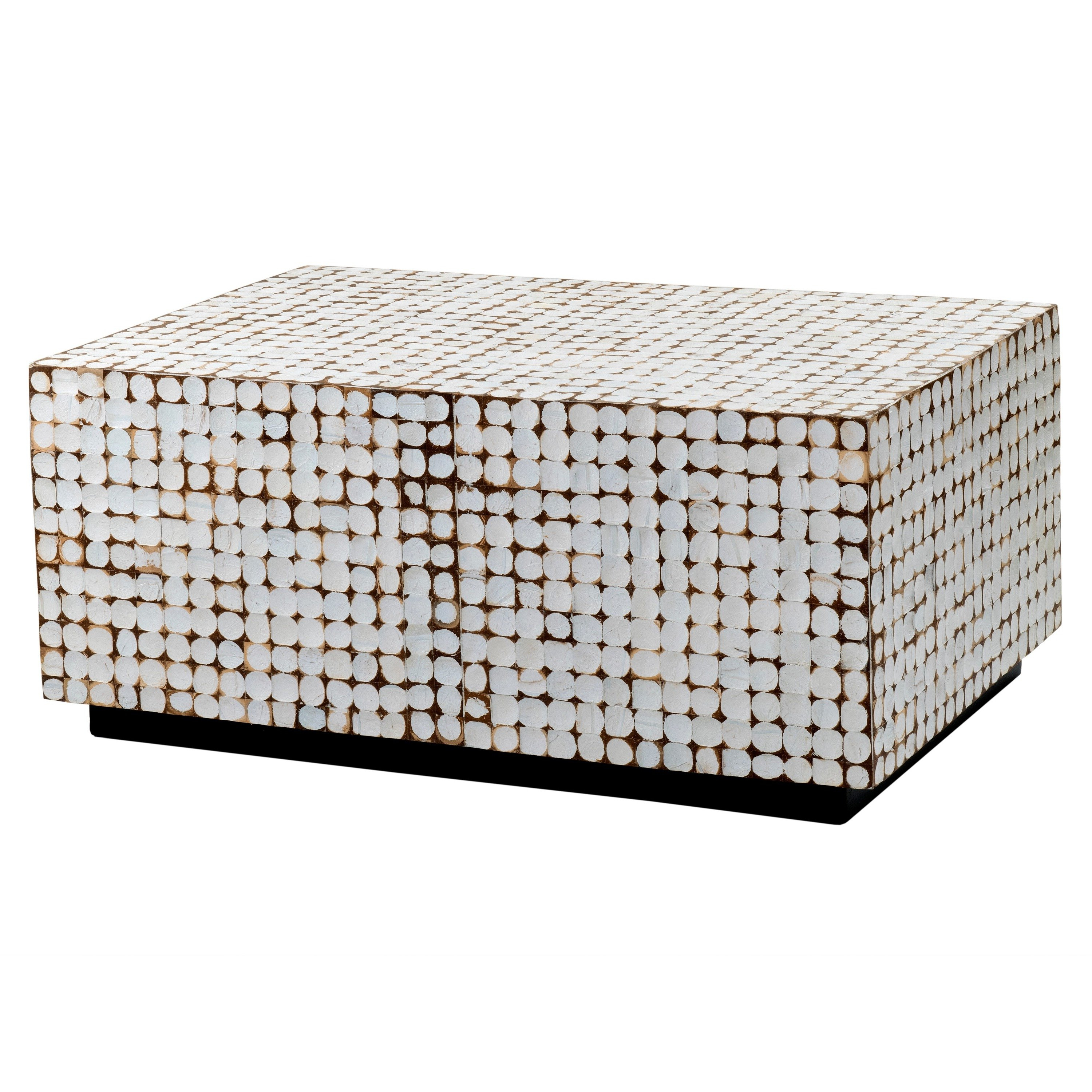 Shop Verona White Rectangle Coffee Table – Free Shipping Today Within Most Current Verona Cocktail Tables (View 15 of 20)