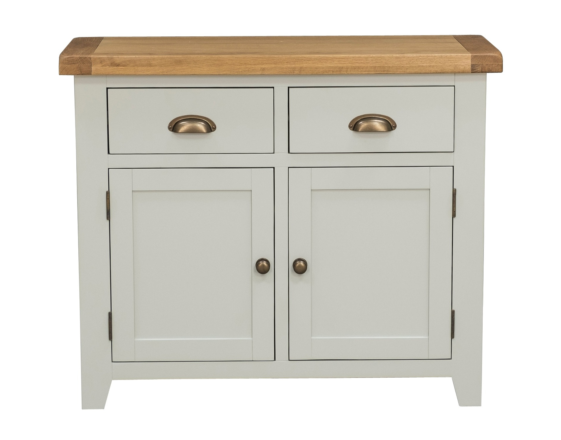 Sideboard 2 Door 2 Drawer – Grey Painted – Sideboards – Furniture World Pertaining To Well Known Tobias 4 Door Sideboards (View 7 of 20)