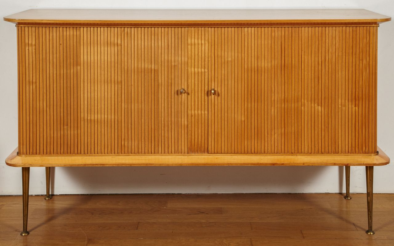 Sideboard Attributed To Jacques Dumond, Circa 1950 (Gallery 9 of 20)