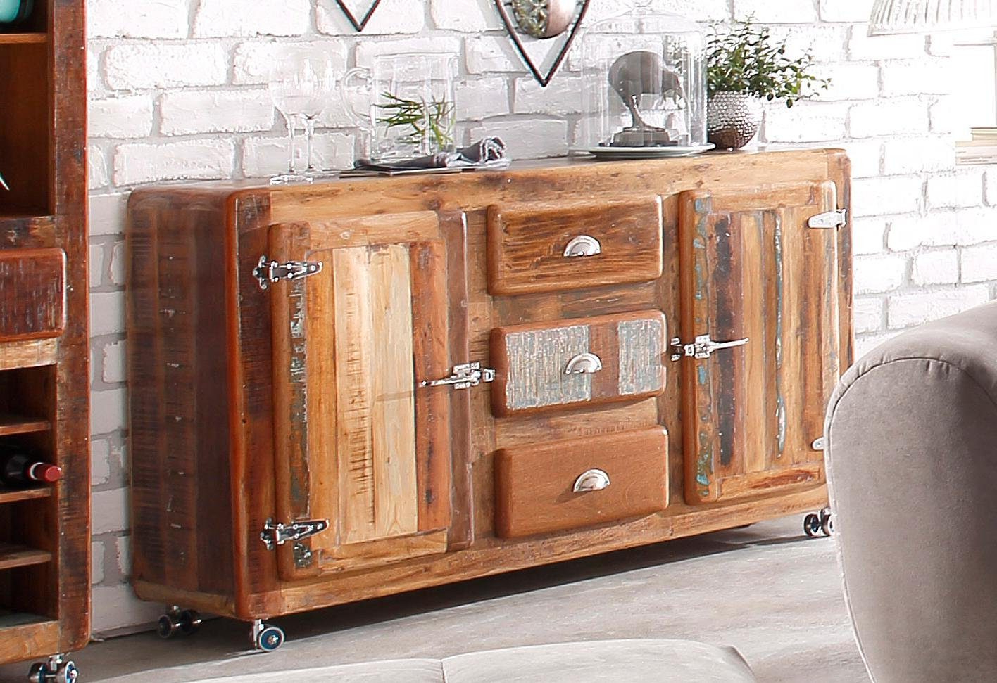 Sideboard 'fridge' – Mygermany With Regard To Most Recently Released Reclaimed 3 Drawer Icebox Sideboards (Gallery 3 of 20)