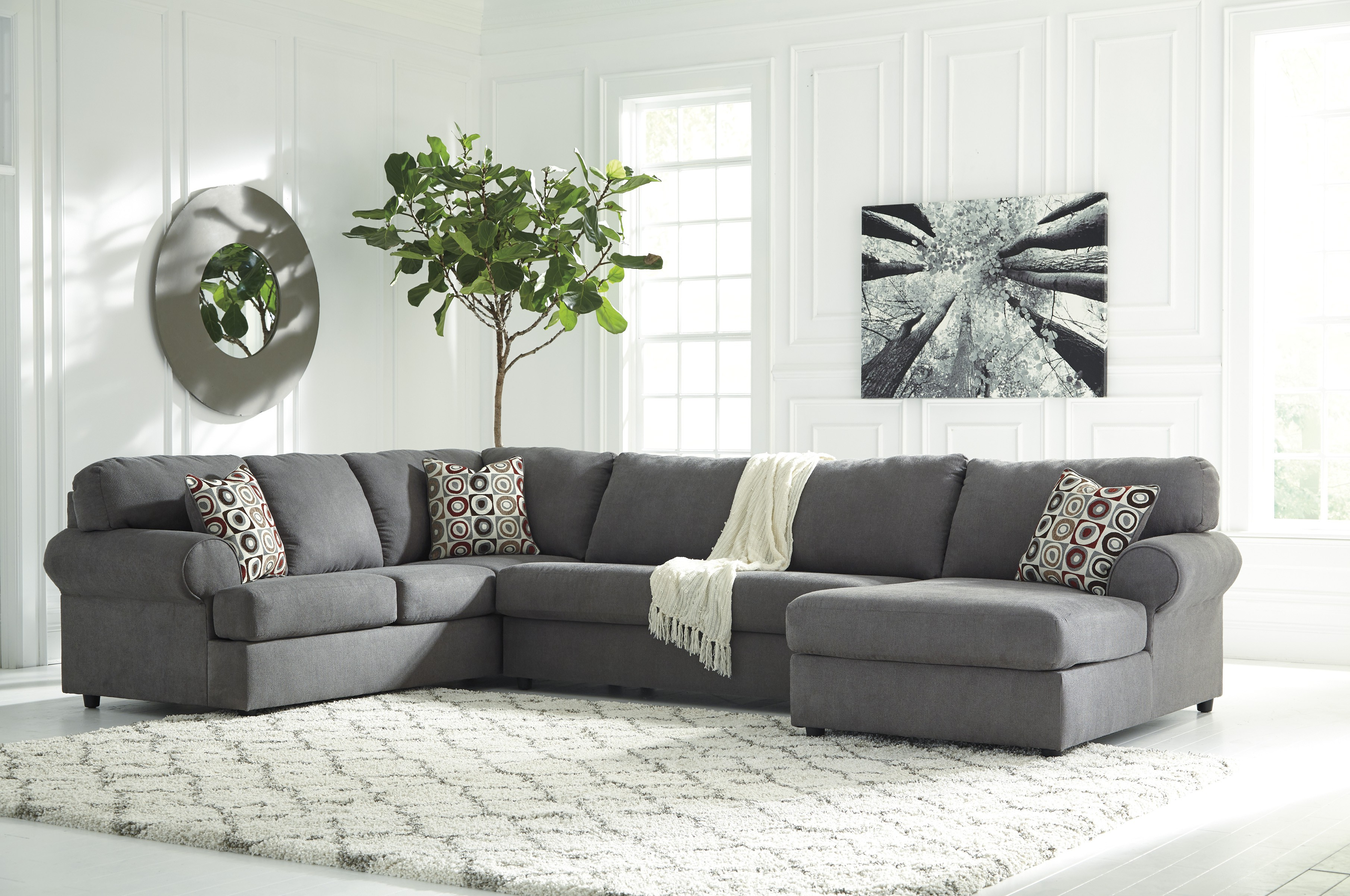 Sierra Foam Ii 3 Piece Sectionals Intended For Trendy Jayceon Steel 64902 3 Pc Sectional (View 15 of 20)