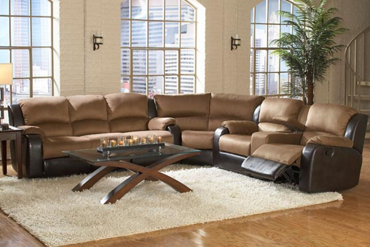 Simple Massage Sectional Sectional Reclining Loveseat Wedge From Intended For Well Liked Travis Cognac Leather 6 Piece Power Reclining Sectionals With Power Headrest & Usb (View 9 of 20)