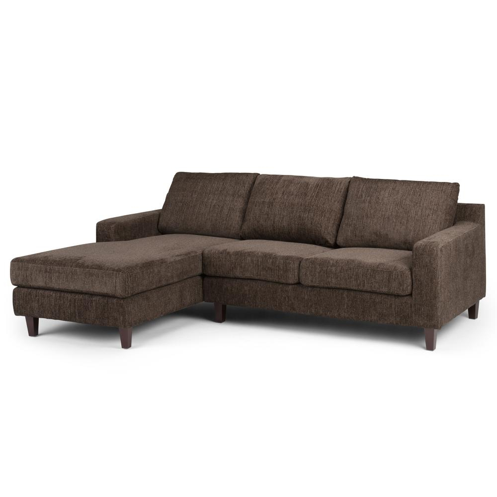 Simpli Home Marisa Deep Umber Brown Sectional Axcmrs 04 Dub – The For Most Current Marissa Ii 3 Piece Sectionals (Gallery 12 of 20)