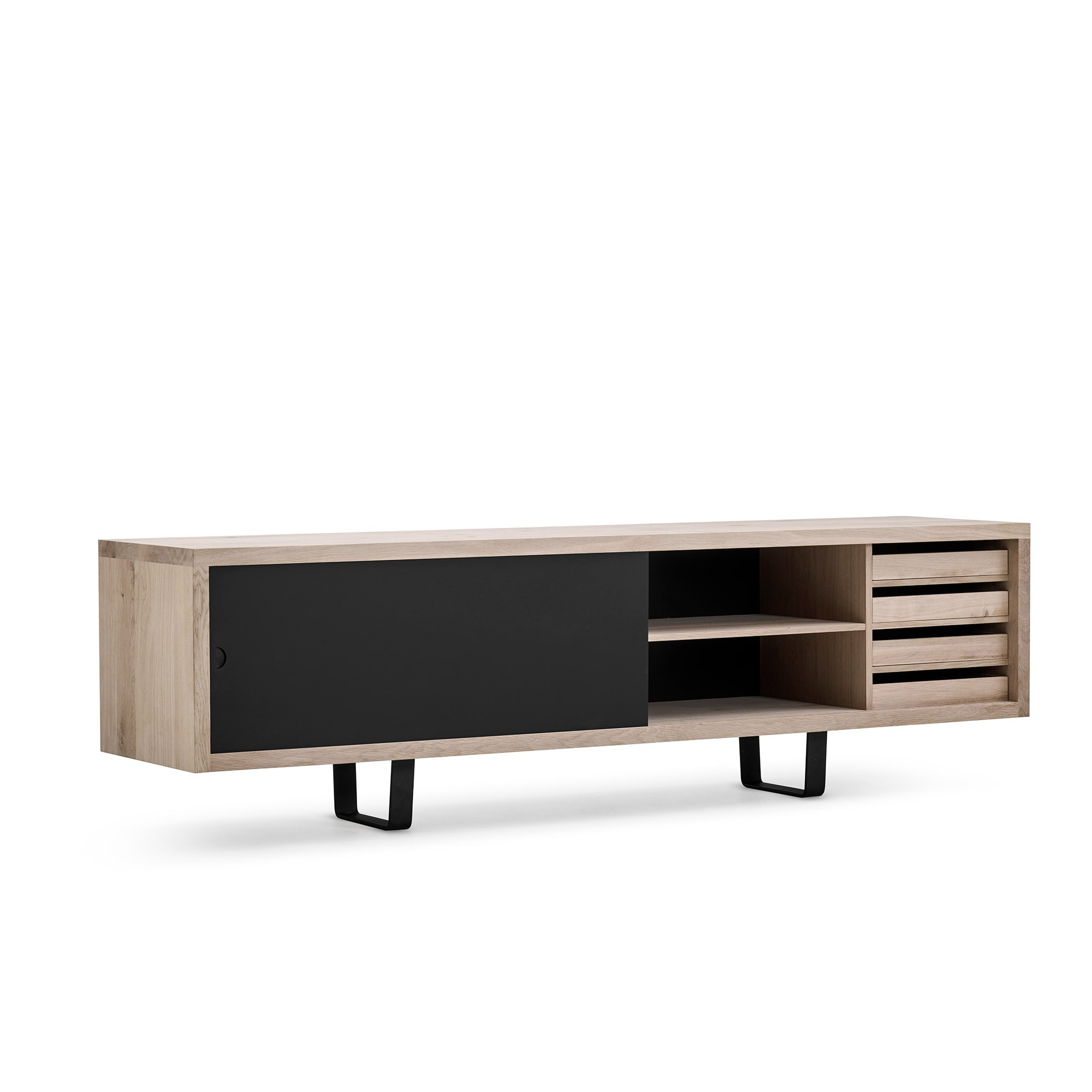 Skandium For Walnut Finish 4 Door Sideboards (View 14 of 20)