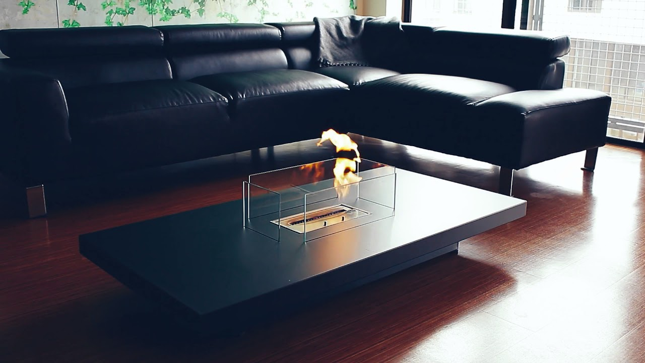Slate Fireplace Coffee Table – Northern Elements – Youtube Regarding Latest Element Coffee Tables (View 20 of 20)