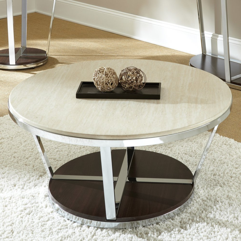 Smart Large Round Marble Top Coffee Tables With Regard To Most Up To Date Furniture How To Make A Small Round End Table Woodworking (View 13 of 20)