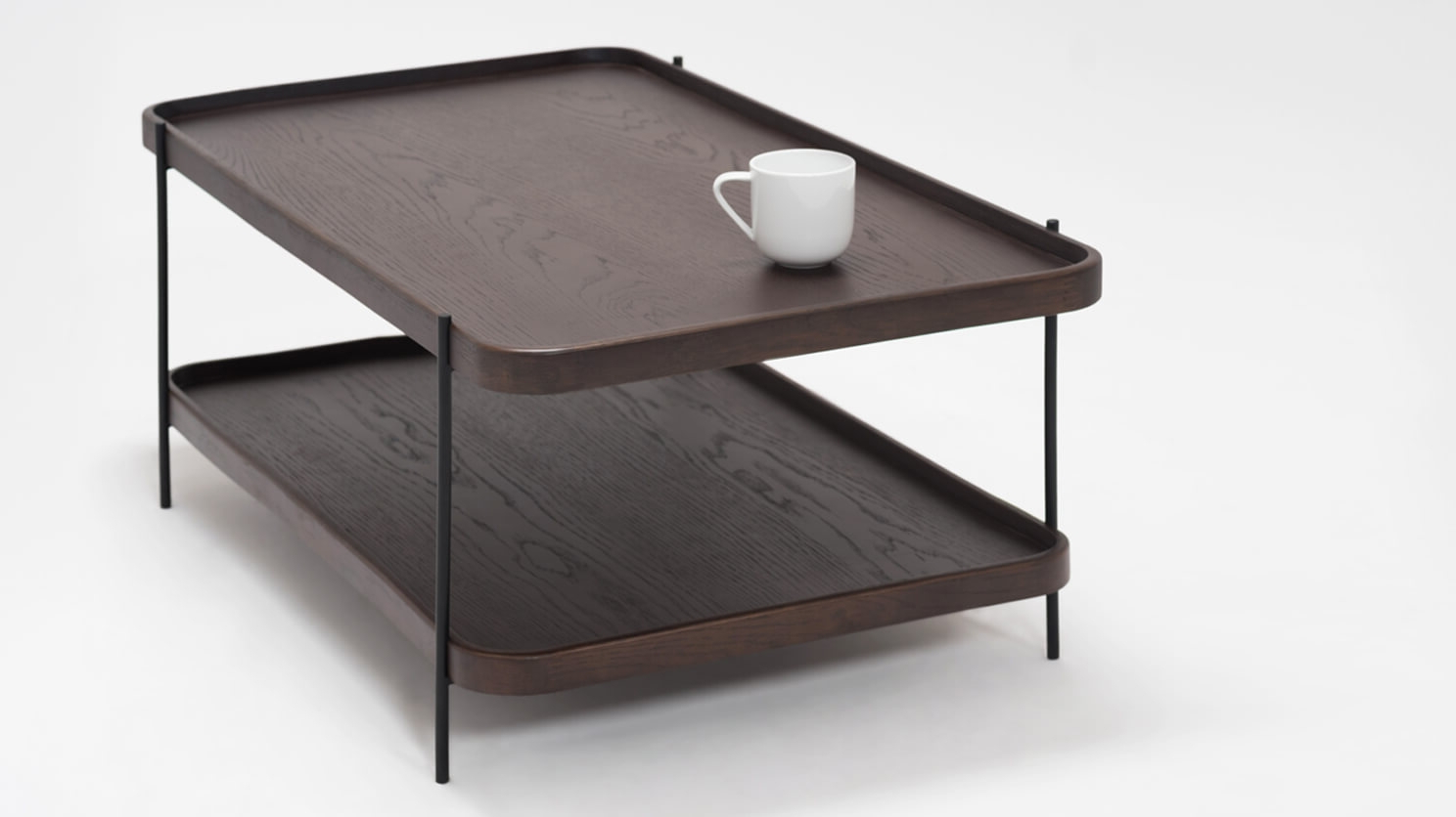 Smoked Oak Coffee Tables Within 2019 Sage Rectangle Coffee Table – Smoked Oak (View 5 of 20)