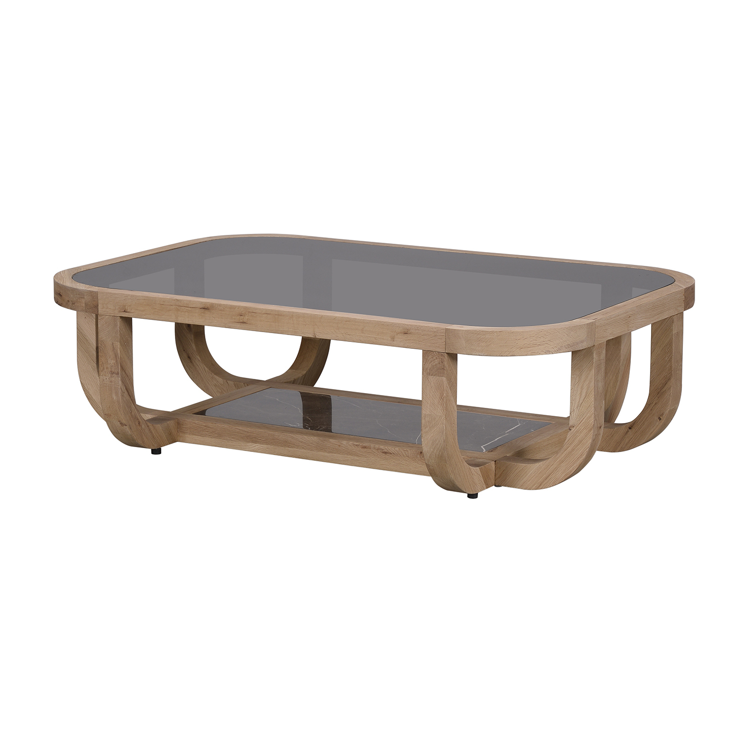 Smoked Oak Coffee Tables Within Trendy Bleu Nature Bowood Coffee Table – F298 (Gallery 18 of 20)