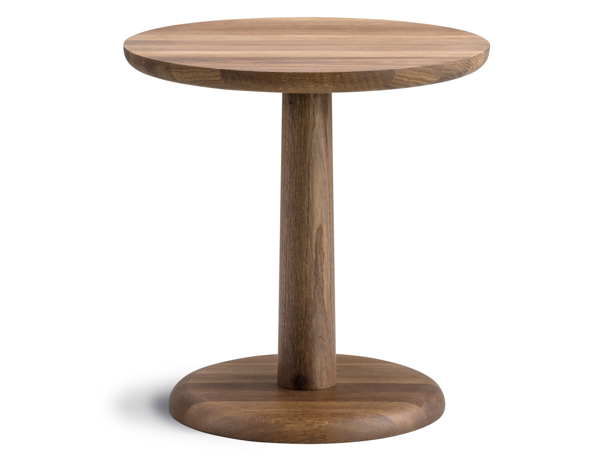 Smoked Oak Side Tables For Trendy Buy The Fredericia Pon Side Table Smoked Oak At Nest.co.uk (Gallery 5 of 20)
