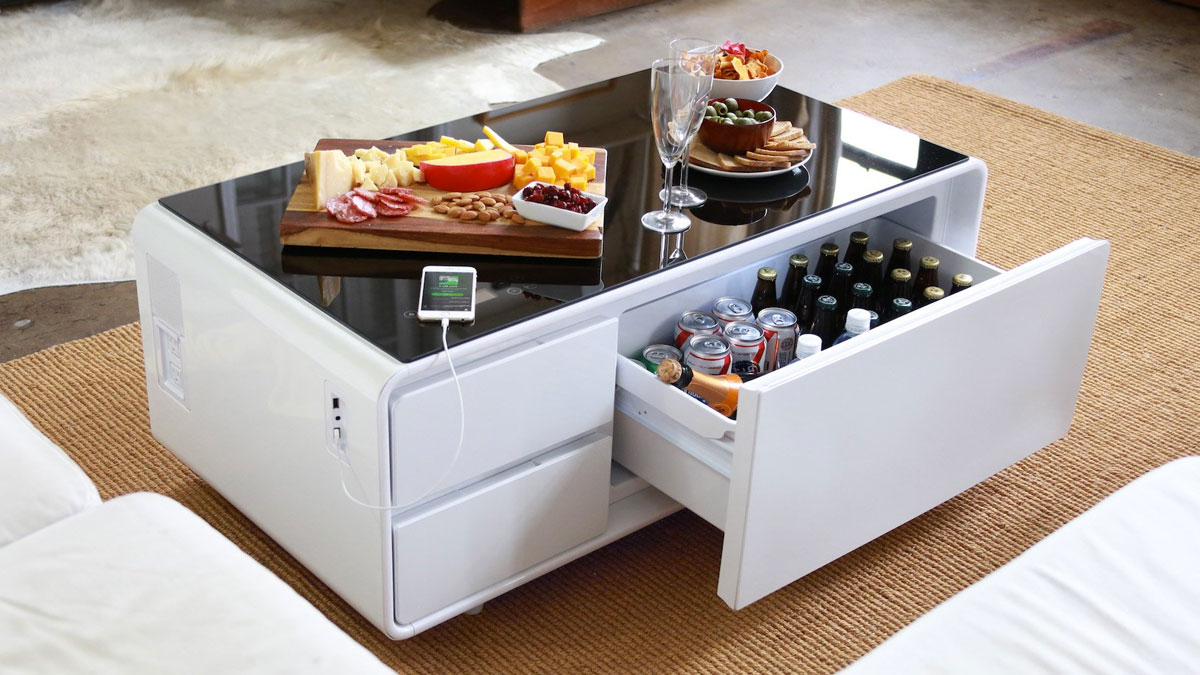 Sobro Cooler Coffee Table (View 8 of 20)