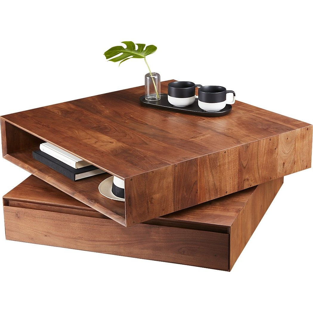 Featured Photo of Spin Rotating Coffee Tables