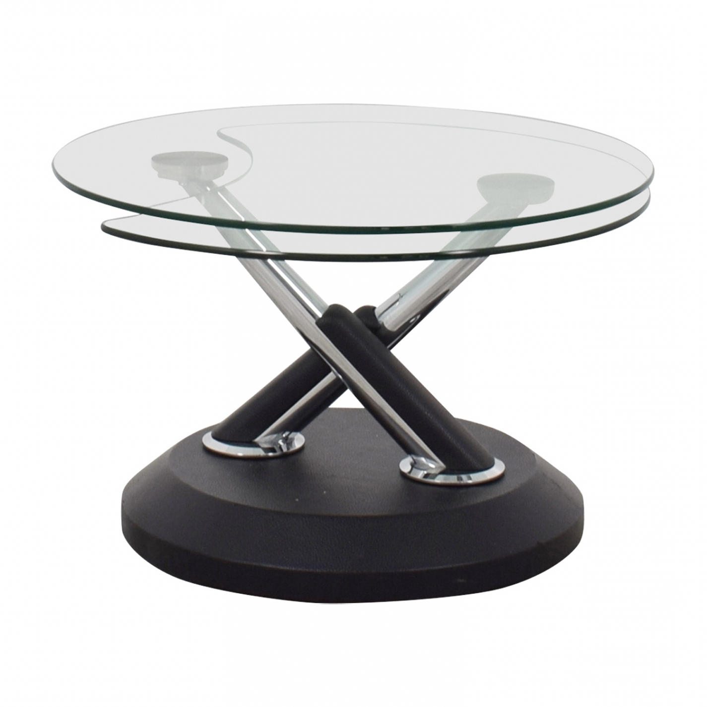 Spin Rotating Coffee Tables With Regard To Best And Newest Spinning Glass Coffee Table – Coffee Table Ideas (Gallery 7 of 20)