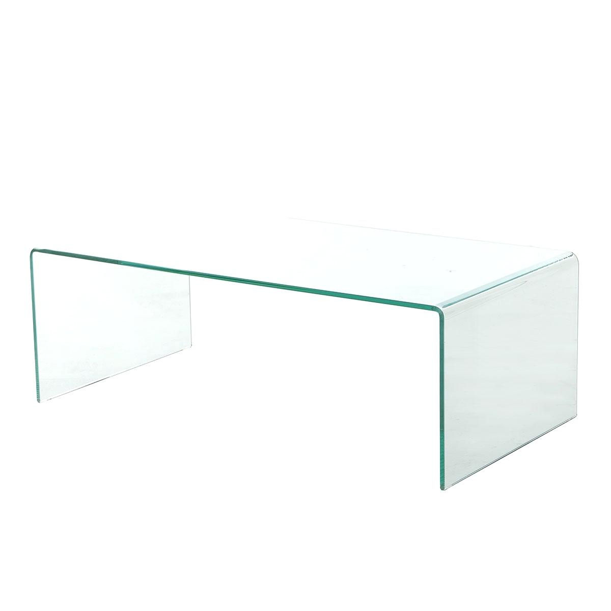 Square Waterfall Coffee Tables In Newest Glass Waterfall Coffee Table – Mathphreak (View 12 of 20)