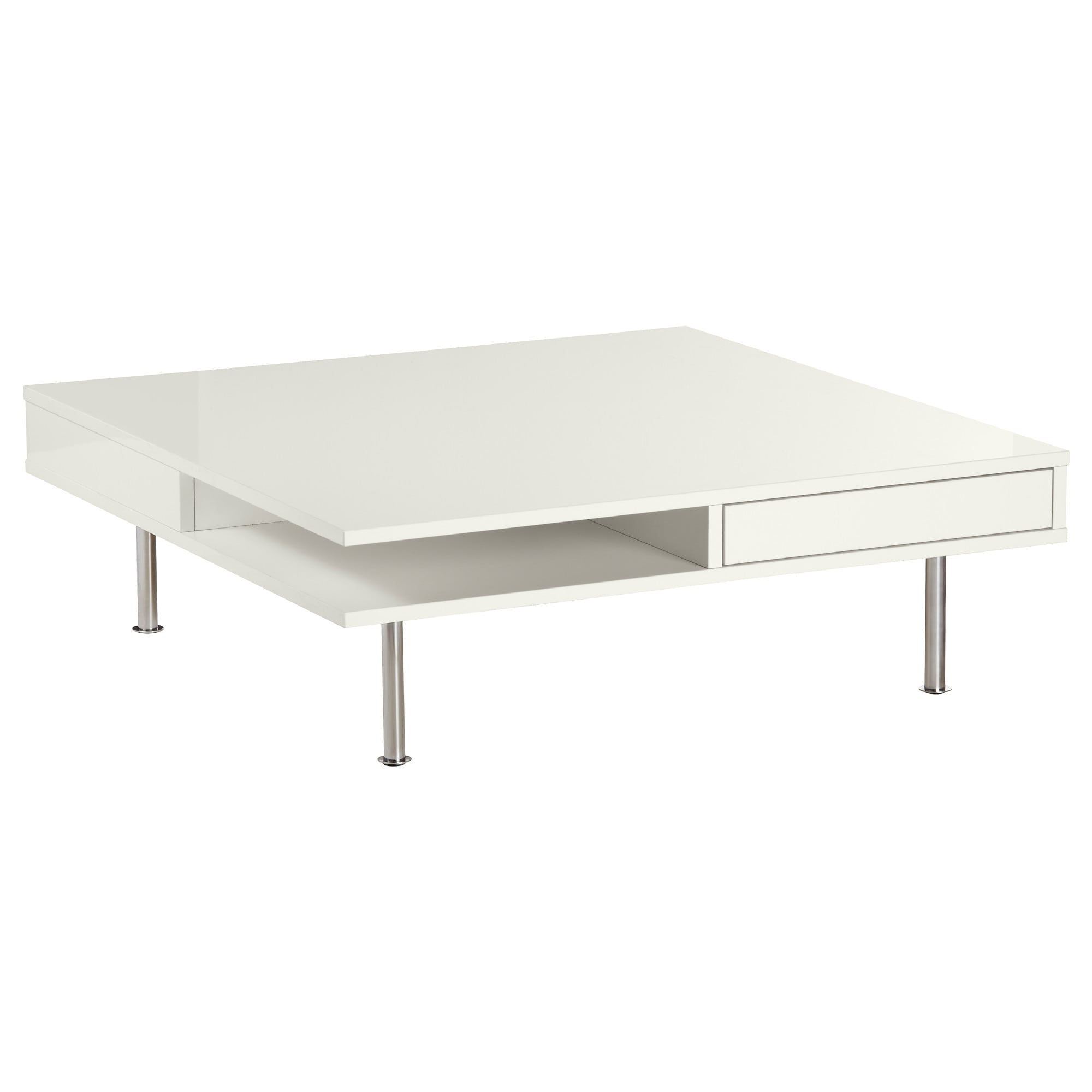 Stack Hi Gloss Wood Coffee Tables Pertaining To Best And Newest Occasional Tables – Tray, Storage & Window Tables (View 11 of 20)