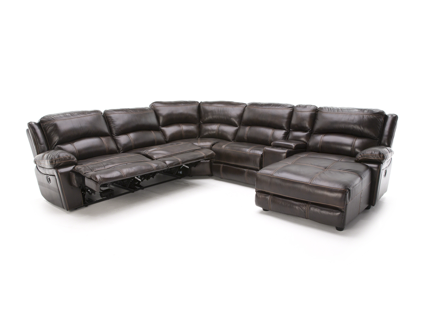 Steinhafels With Jackson 6 Piece Power Reclining Sectionals With  Sleeper (View 17 of 20)