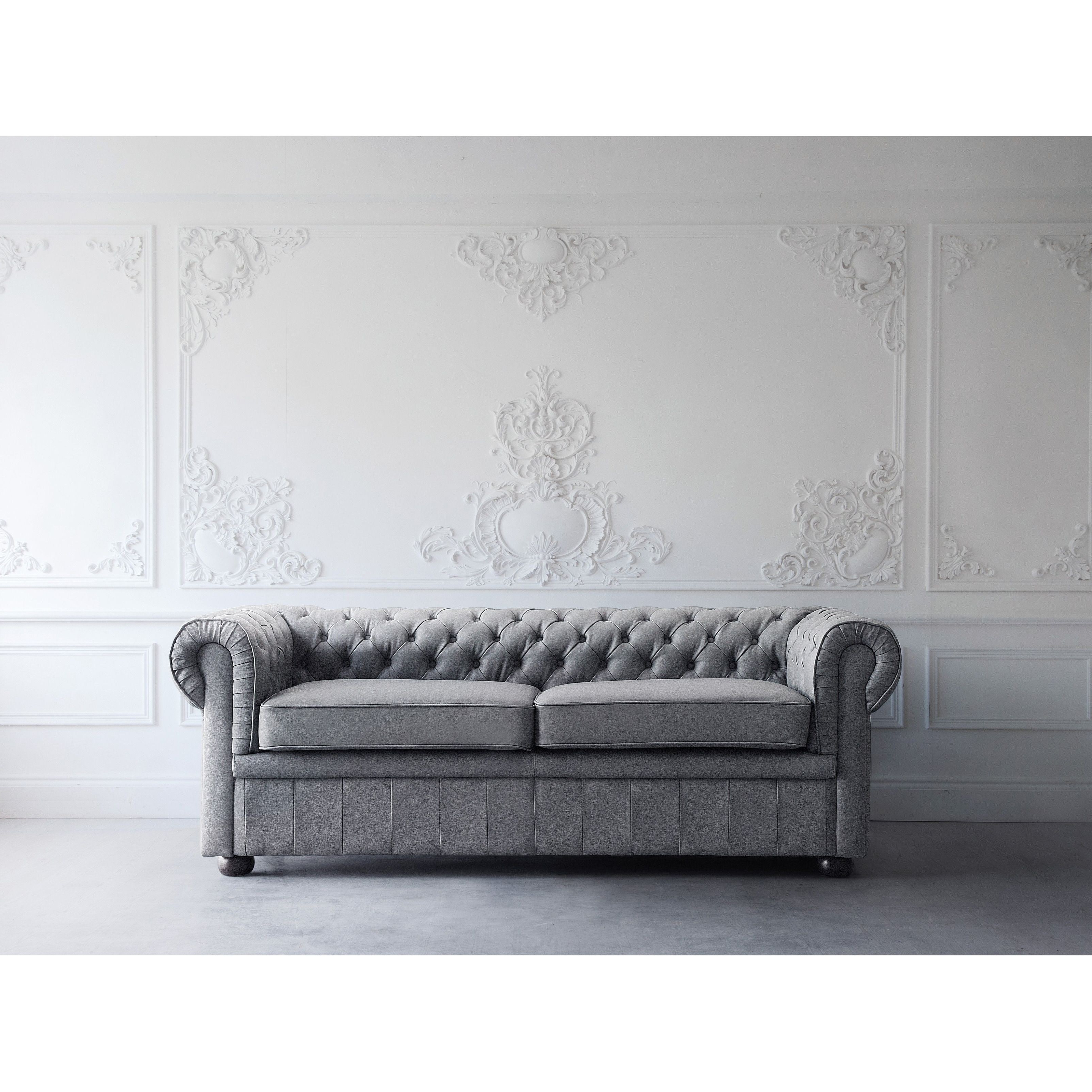 Stunning Augustina Lear Sofa Lear Sofas Couches Grey Lear Sofa Grey Intended For Trendy Clyde Grey Leather 3 Piece Power Reclining Sectionals With Pwr Hdrst & Usb (View 4 of 20)