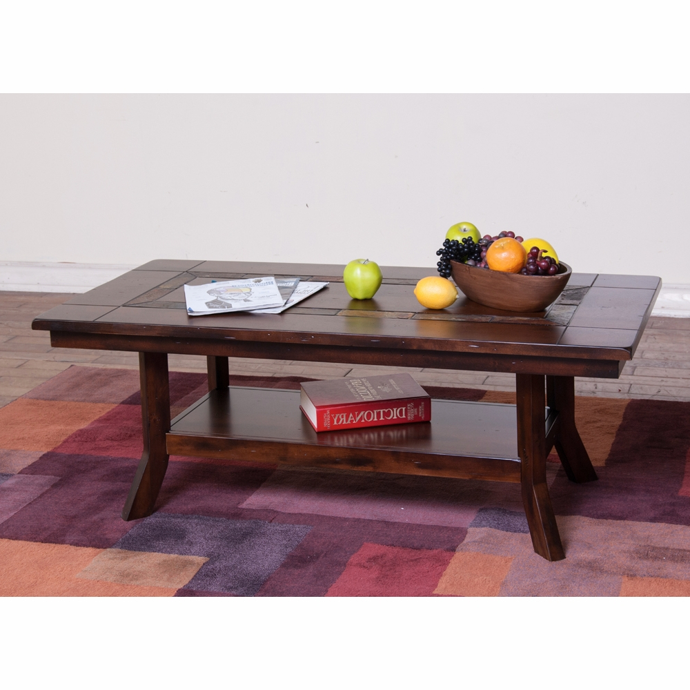Sunny Designs – Santa Fe Coffee Table – 3175Dc C For Most Recently Released Santa Fe Coffee Tables (View 16 of 20)