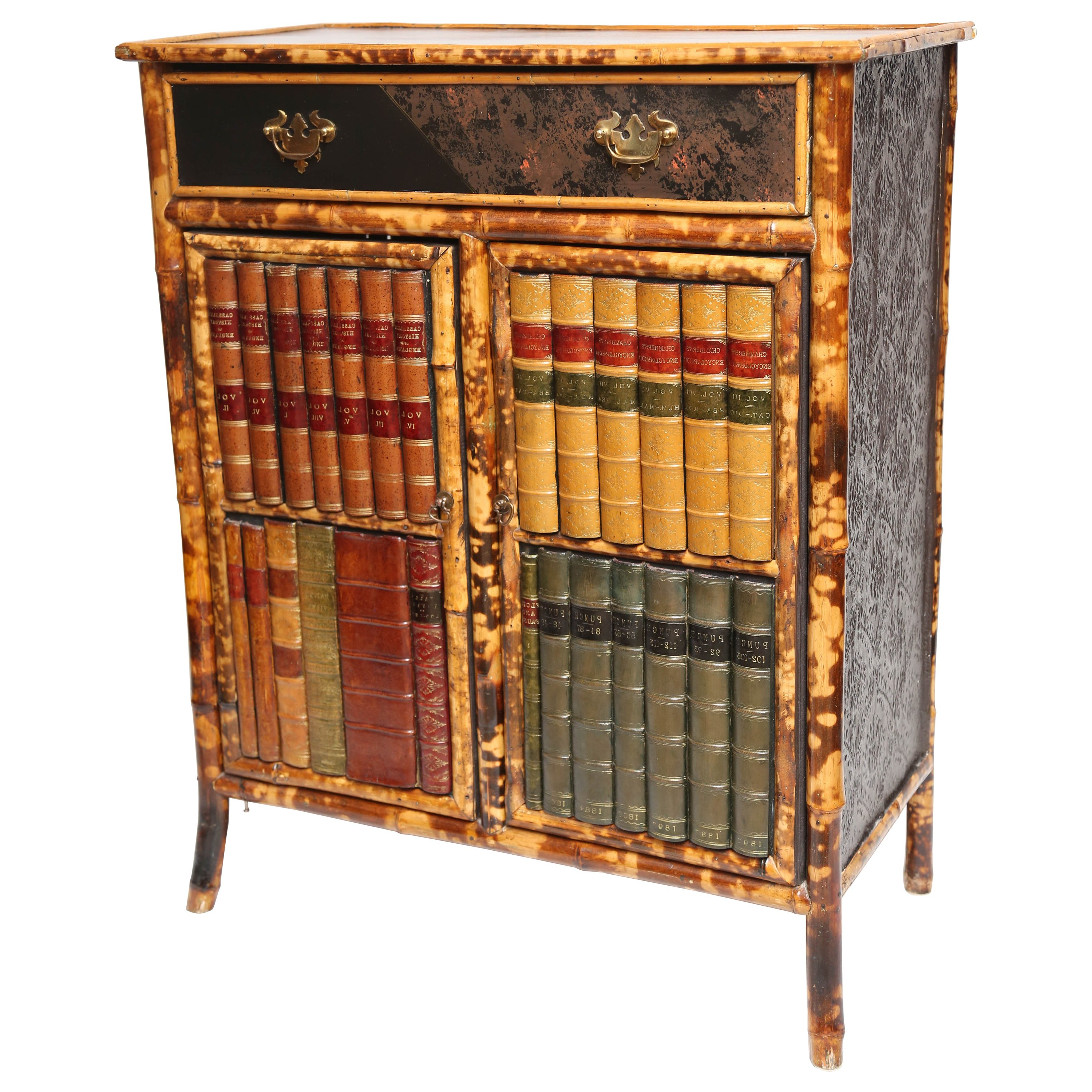 Superb 19Th Century English Bamboo With Faux Front Cabinet At 1Stdibs Regarding Fashionable Cass 2 Door Sideboards (Gallery 14 of 20)