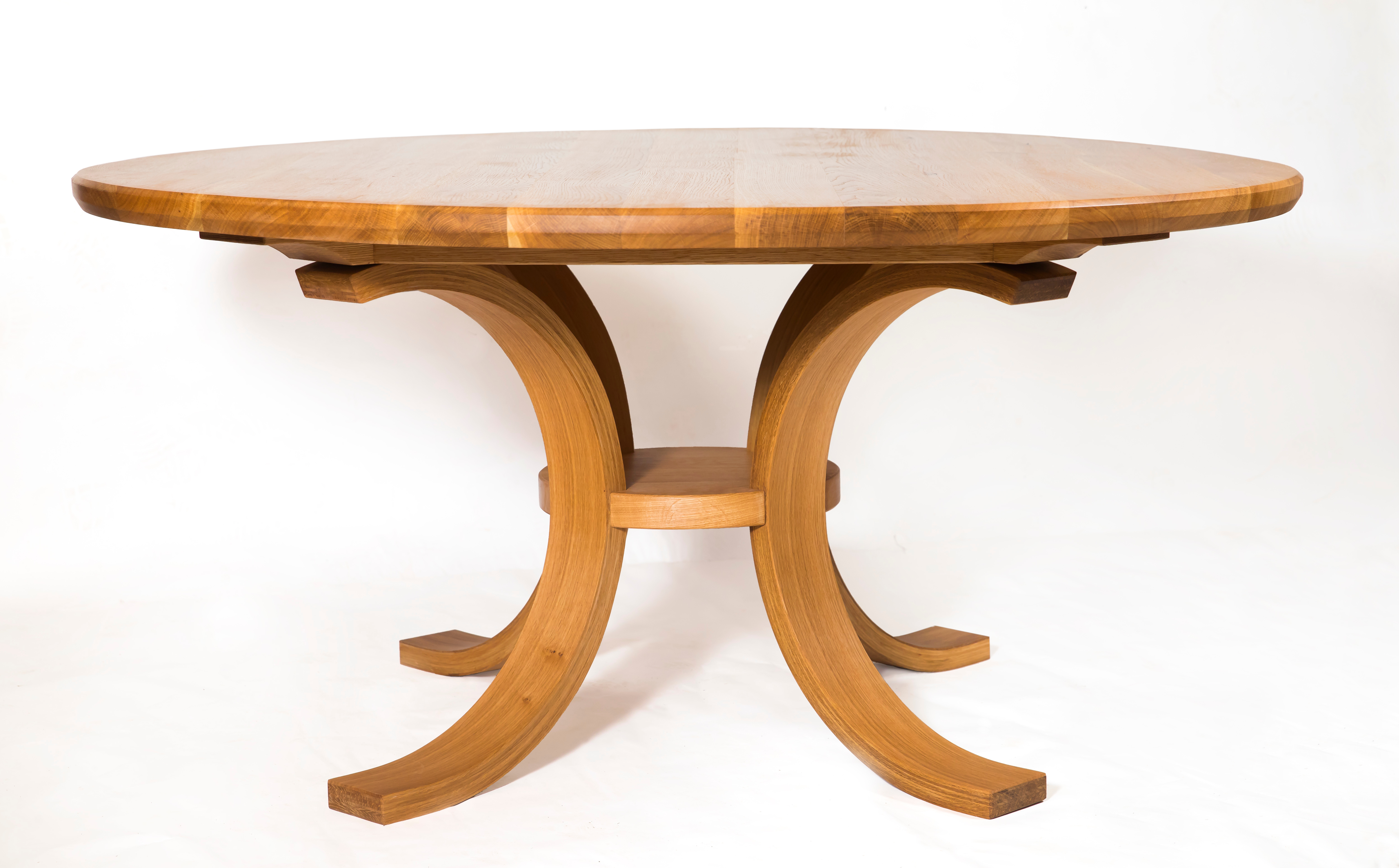 "Swell"" Circular Dining Table – Shane Tubrid Furnituredesign With Most Recently Released Swell Round Coffee Tables (Gallery 6 of 20)"