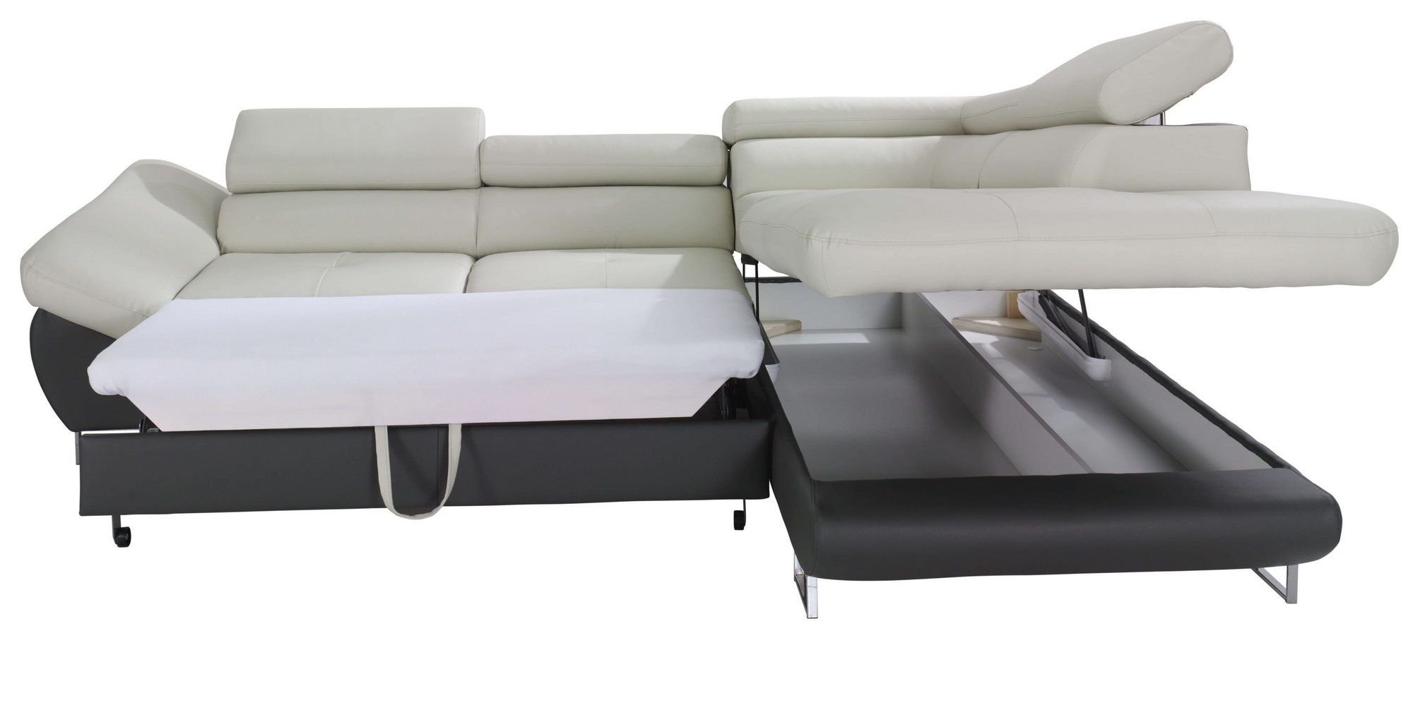Taren Reversible Sofa/chaise Sleeper Sectionals With Storage Ottoman In Latest Probably Terrific Free Sectional Sofa With Chaise And Sleeper Pic (View 15 of 20)
