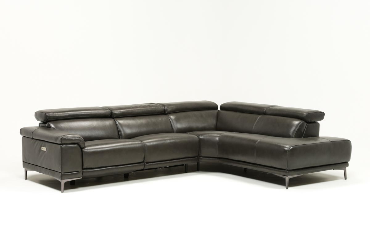 Tatum Dark Grey 2 Piece Sectional W/laf Chaise (Gallery 5 of 20)