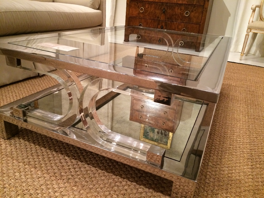 Tempered Glass Coffee Table Ideas – Thelightlaughed Regarding Latest Square Waterfall Coffee Tables (Gallery 13 of 20)