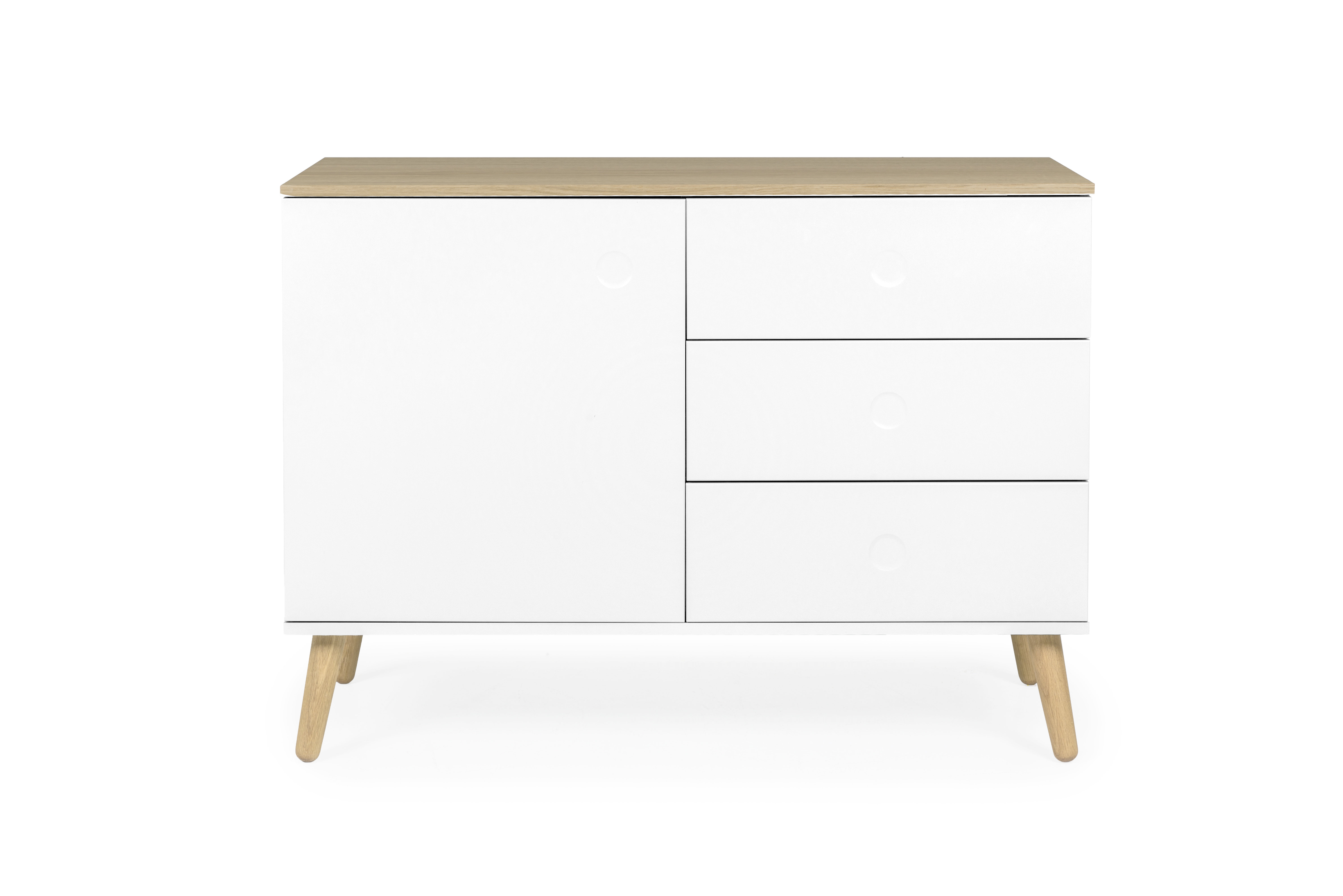 Tenzo Dot 1 Door 3 Drawer Sideboard & Reviews (View 15 of 20)