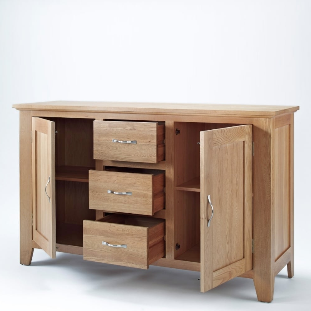 The Furniture House Inside 3 Drawer/2 Door Sideboards (View 12 of 20)