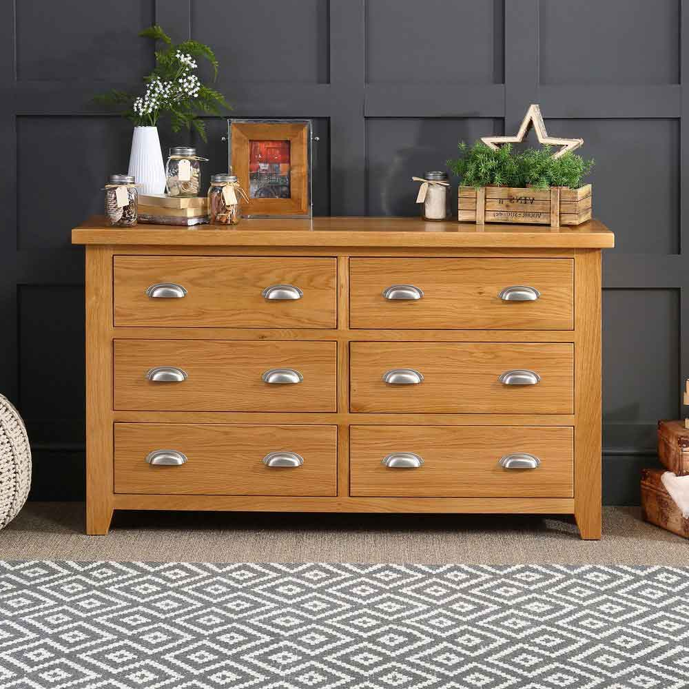 The Furniture Market With Rustic Black & Zebra Pine Sideboards (View 3 of 20)