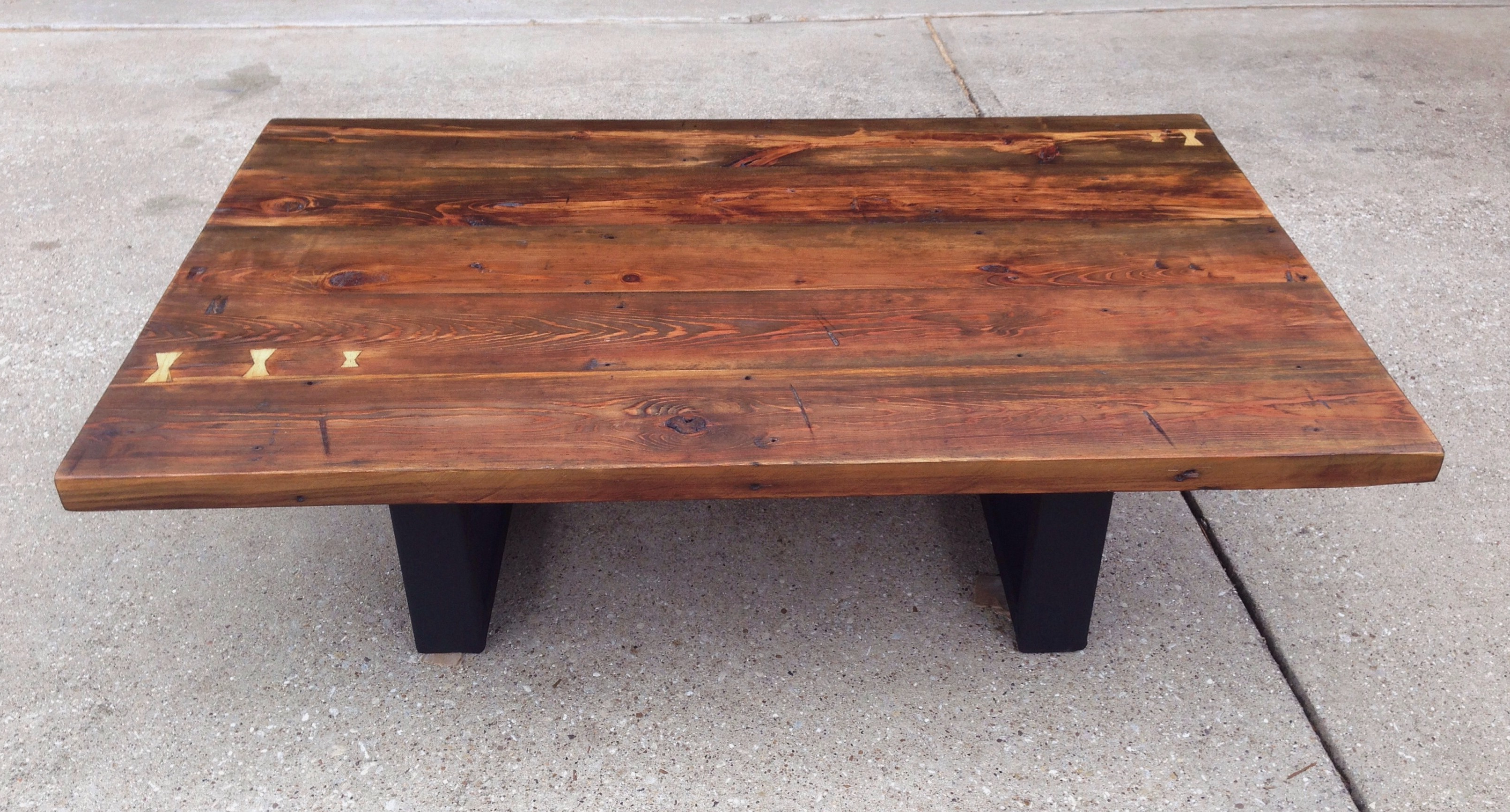 The Grain. For Reclaimed Pine & Iron Coffee Tables (Gallery 8 of 20)