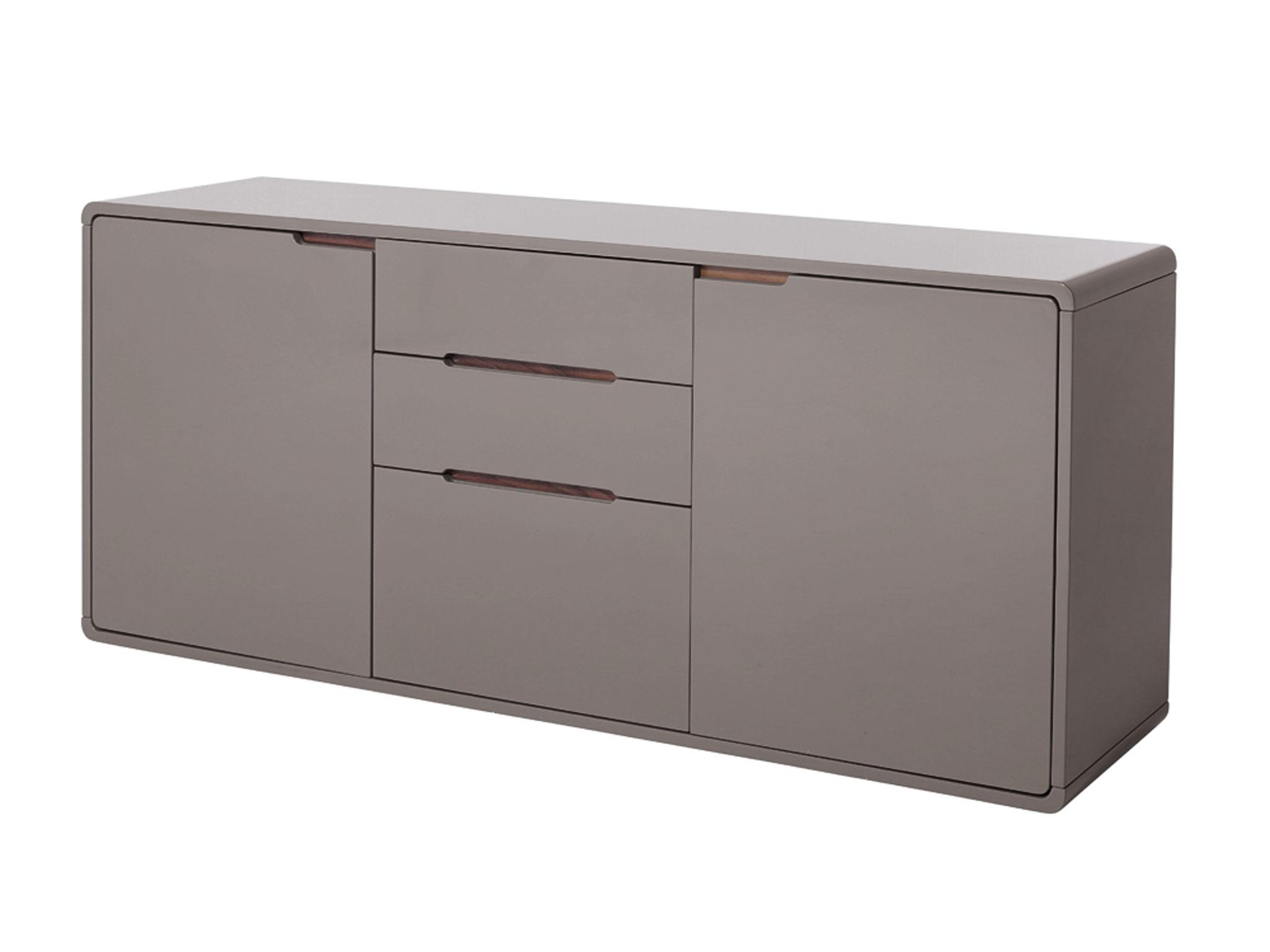 The Independent With Antique Walnut Finish 2 Door/4 Drawer Sideboards (View 7 of 20)