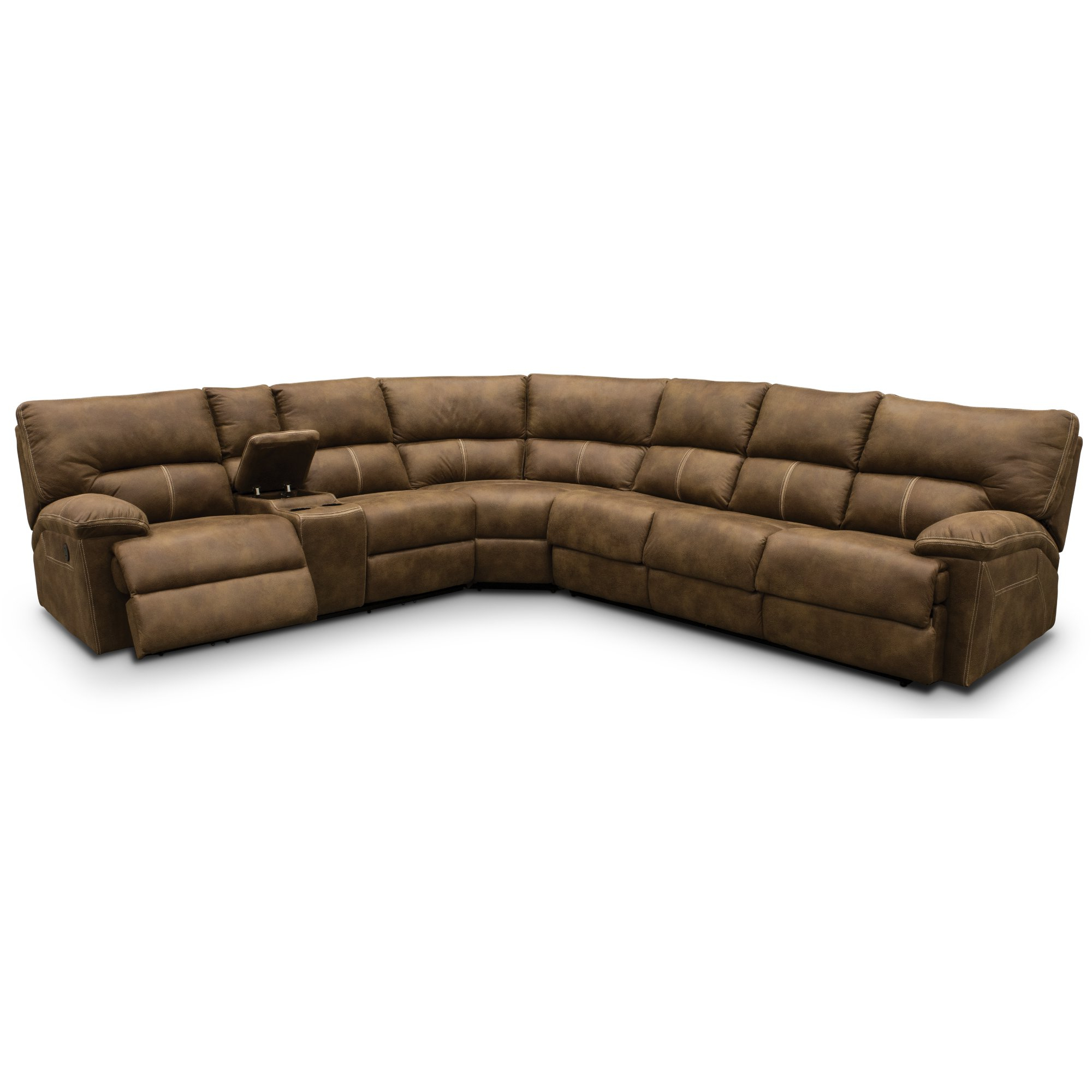 Featured Photo of Taron 3 Piece Power Reclining Sectionals With Left Facing Console Loveseat