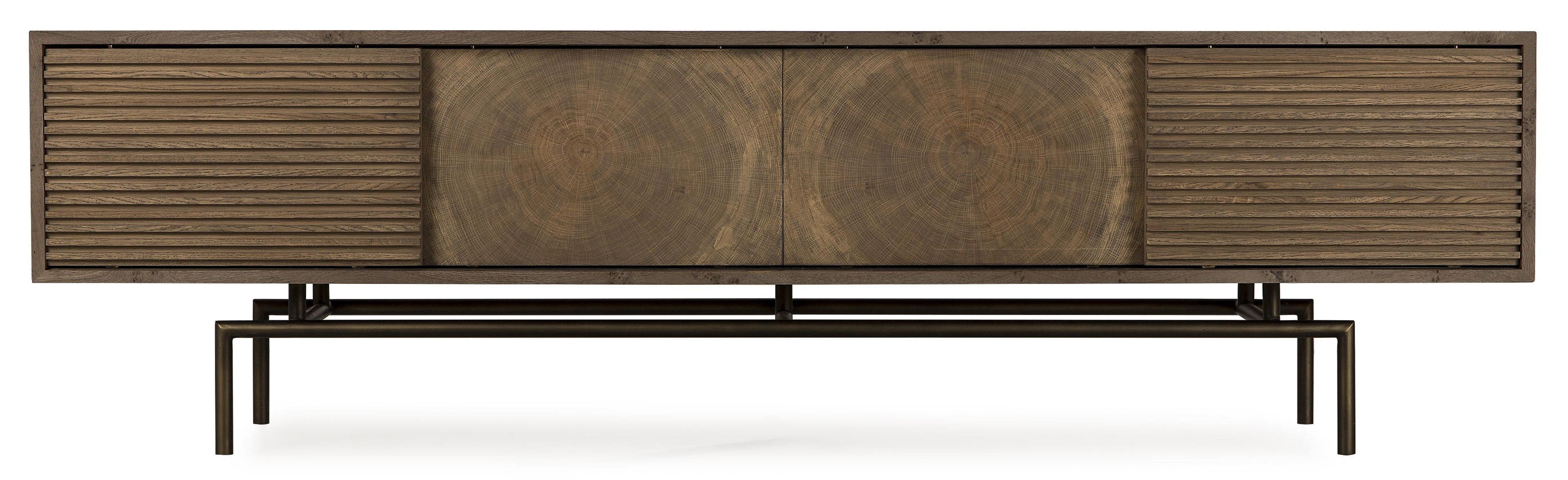 Thomas Bina Blaine Media Console Intended For Most Recently Released Blaine 3 Piece Sectionals (View 18 of 20)