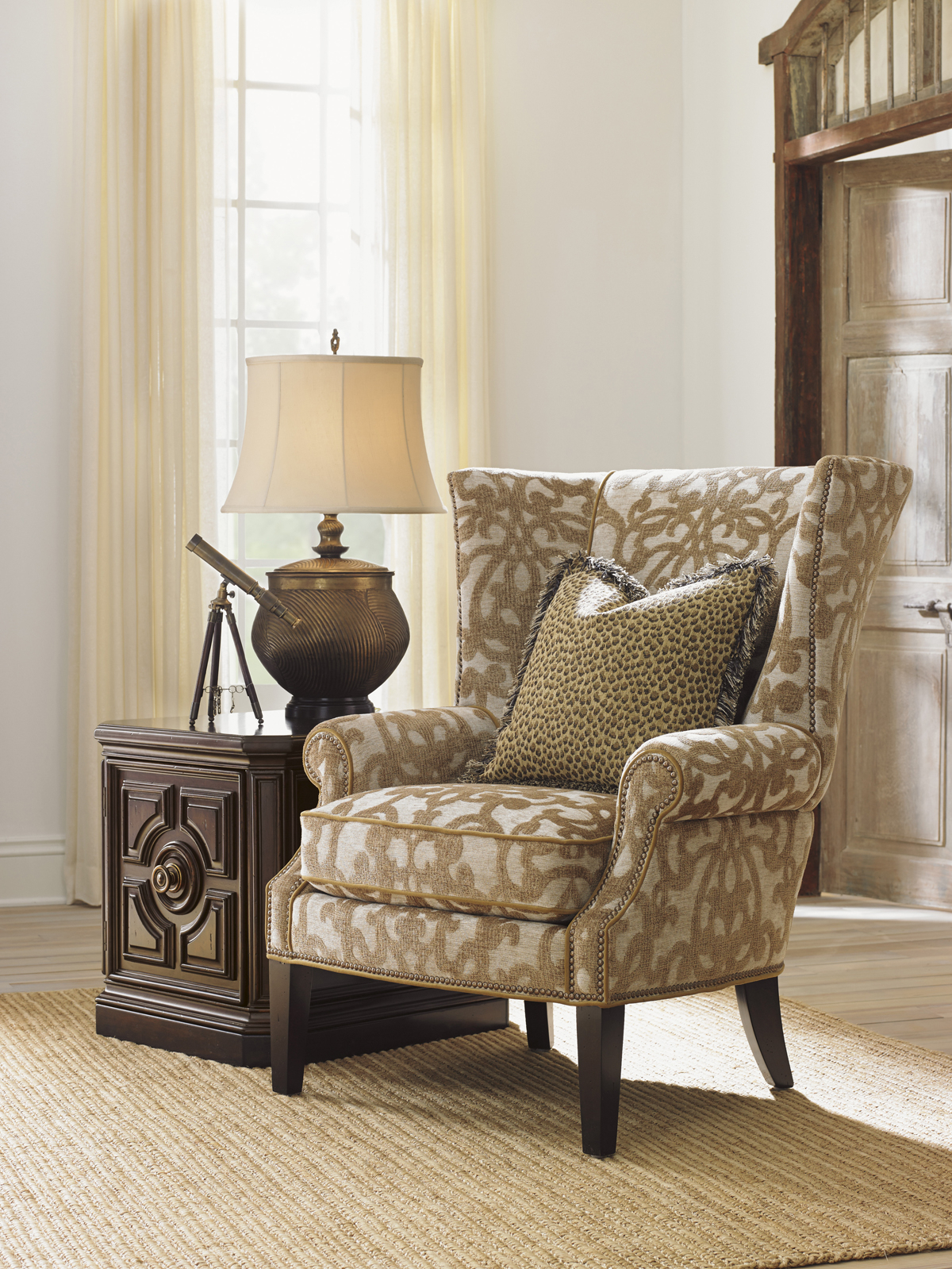 Tommy Bahama Upholstery Marissa Wing Chair (Gallery 1 of 20)