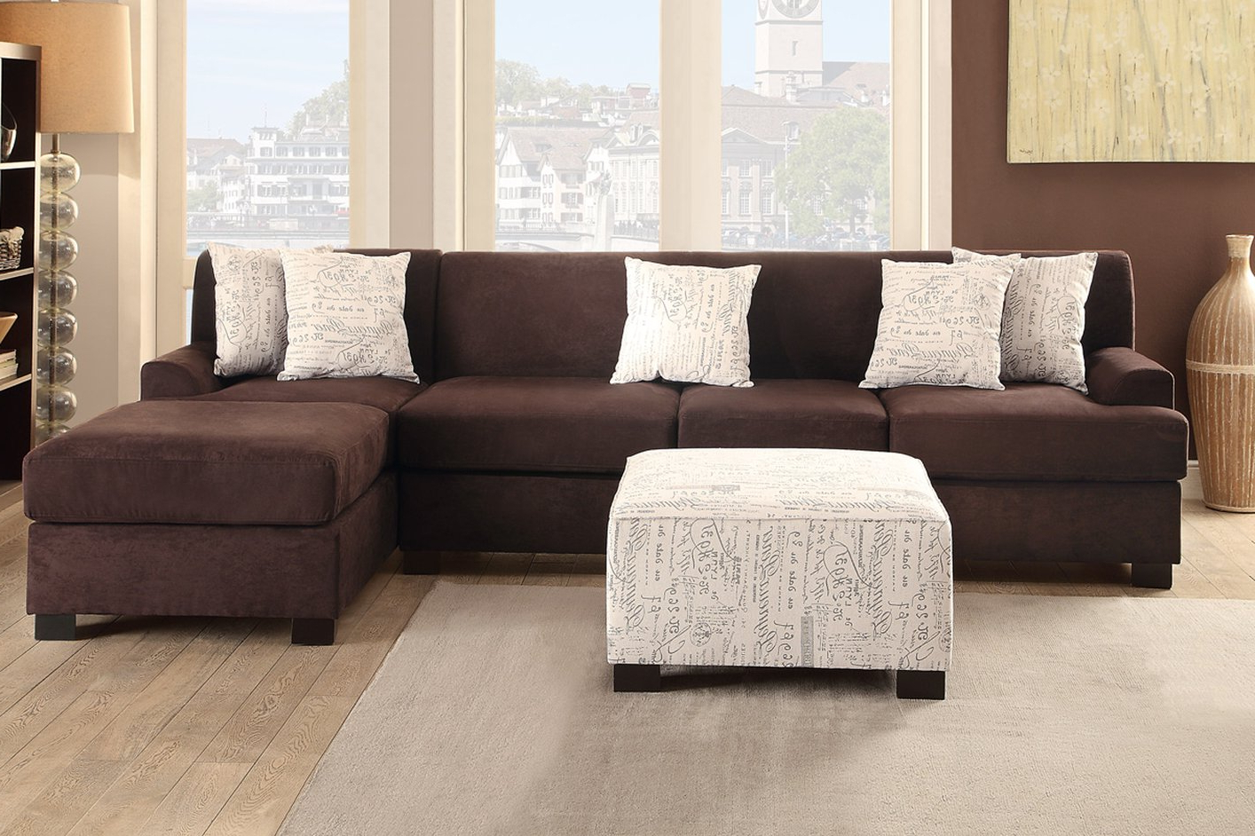 Top Sectional With 2 Chaise Lounges &yz44 – Roccommunity Pertaining To Famous Arrowmask 2 Piece Sectionals With Laf Chaise (View 12 of 20)